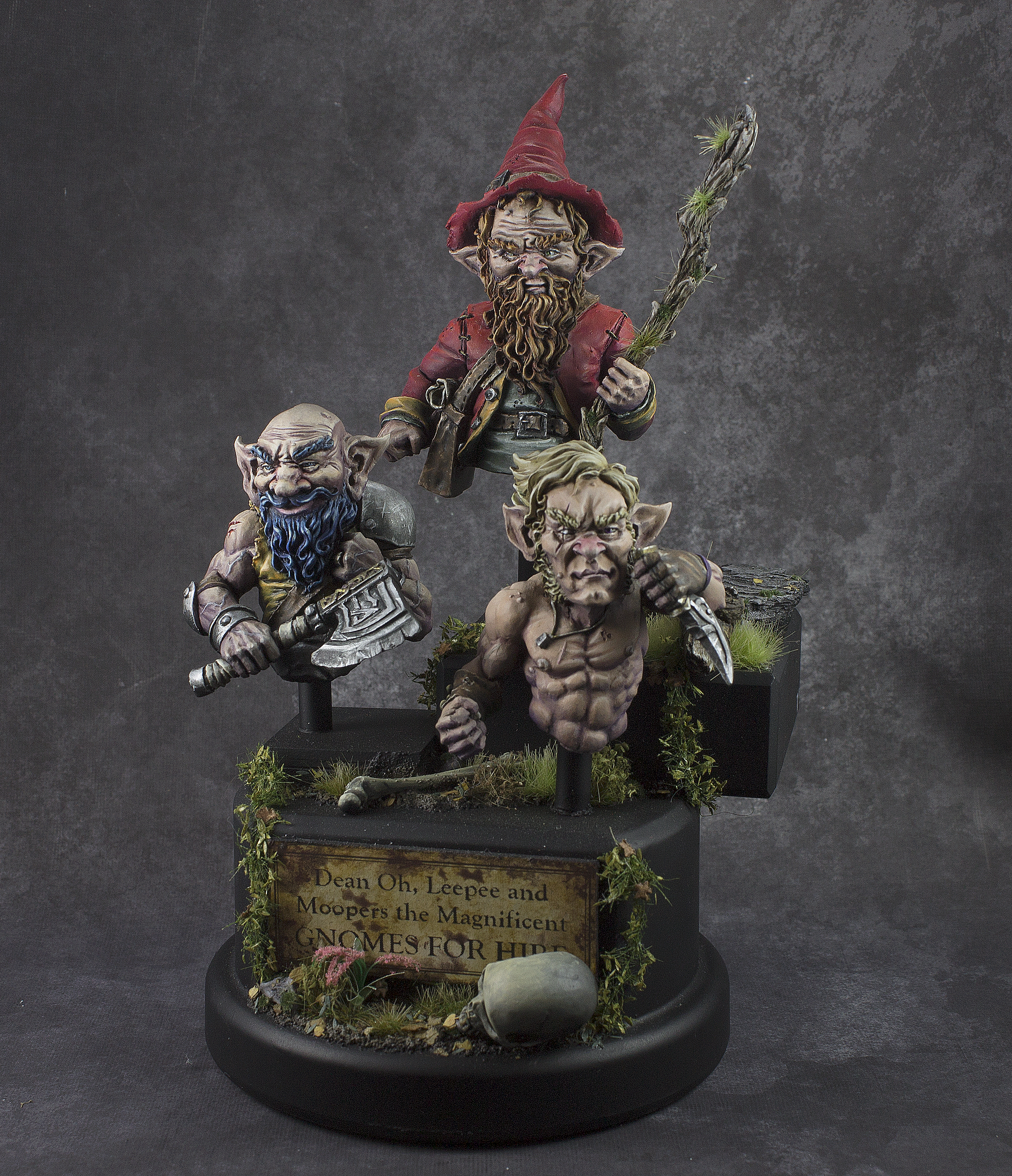 Gnomes for Hire