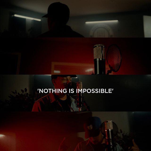Full Video on @loucharlestx`s IGTV  Song: Nothing Is Impossible  Location @musicinfocusstudio  Live Audio Mixing by @chico_theengineer  Prod CO @orangevideopro Director/DP @germantorrestx AC/Grip Swing @emilymsanchez