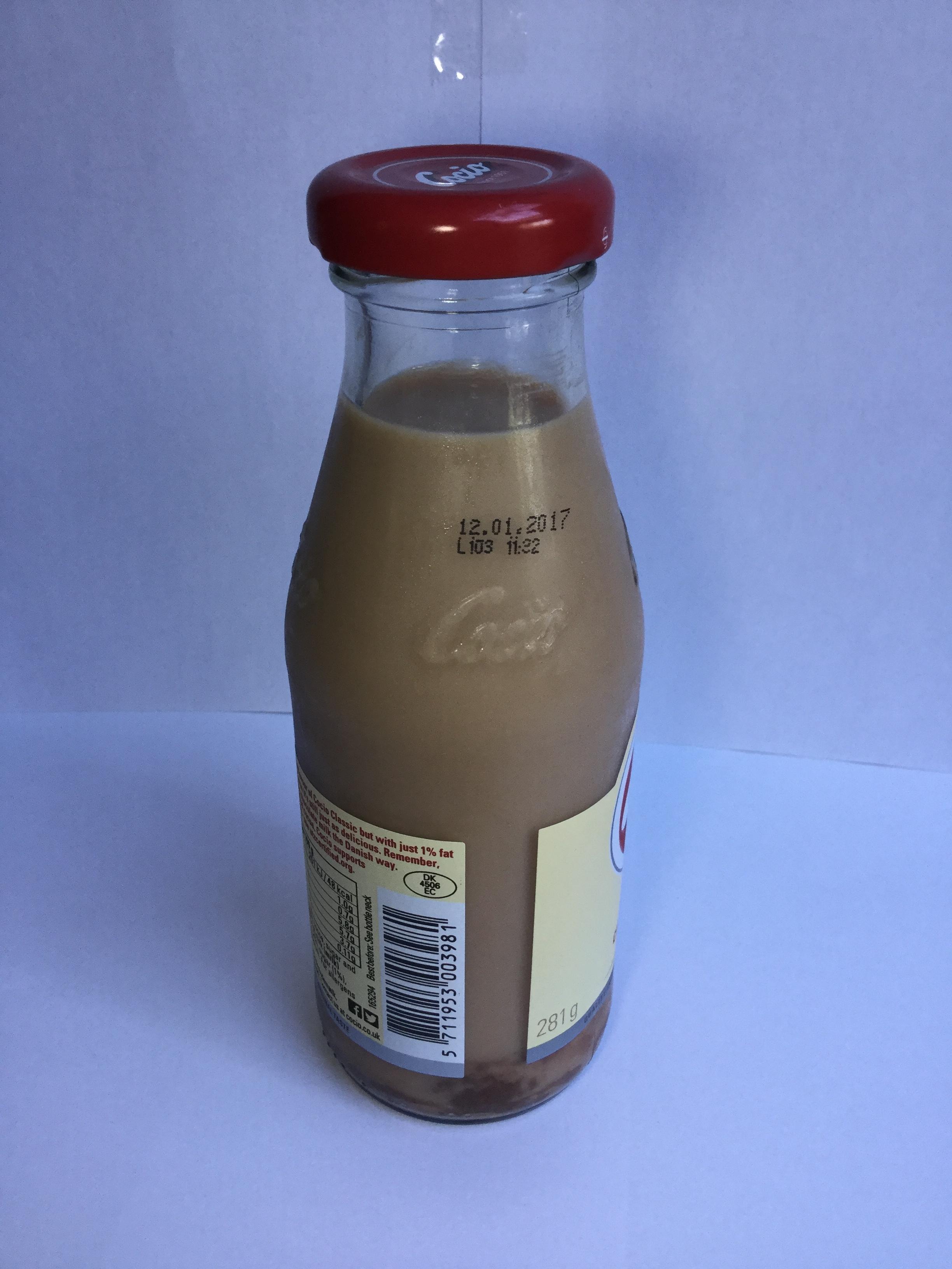 Cocio One Chocolate Milk Side 2