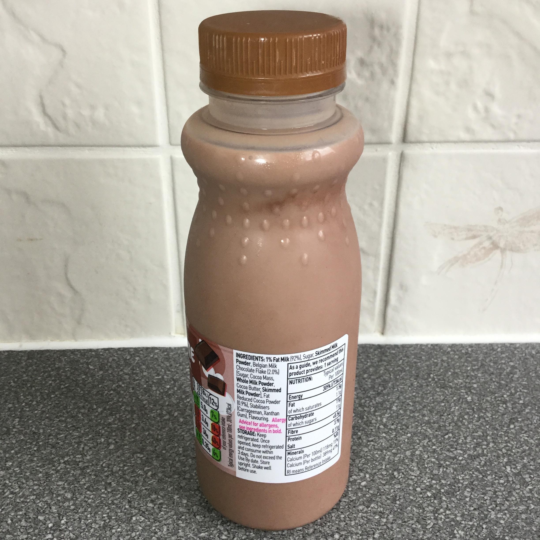 Asda Chocolate Flavoured Milk Side 1