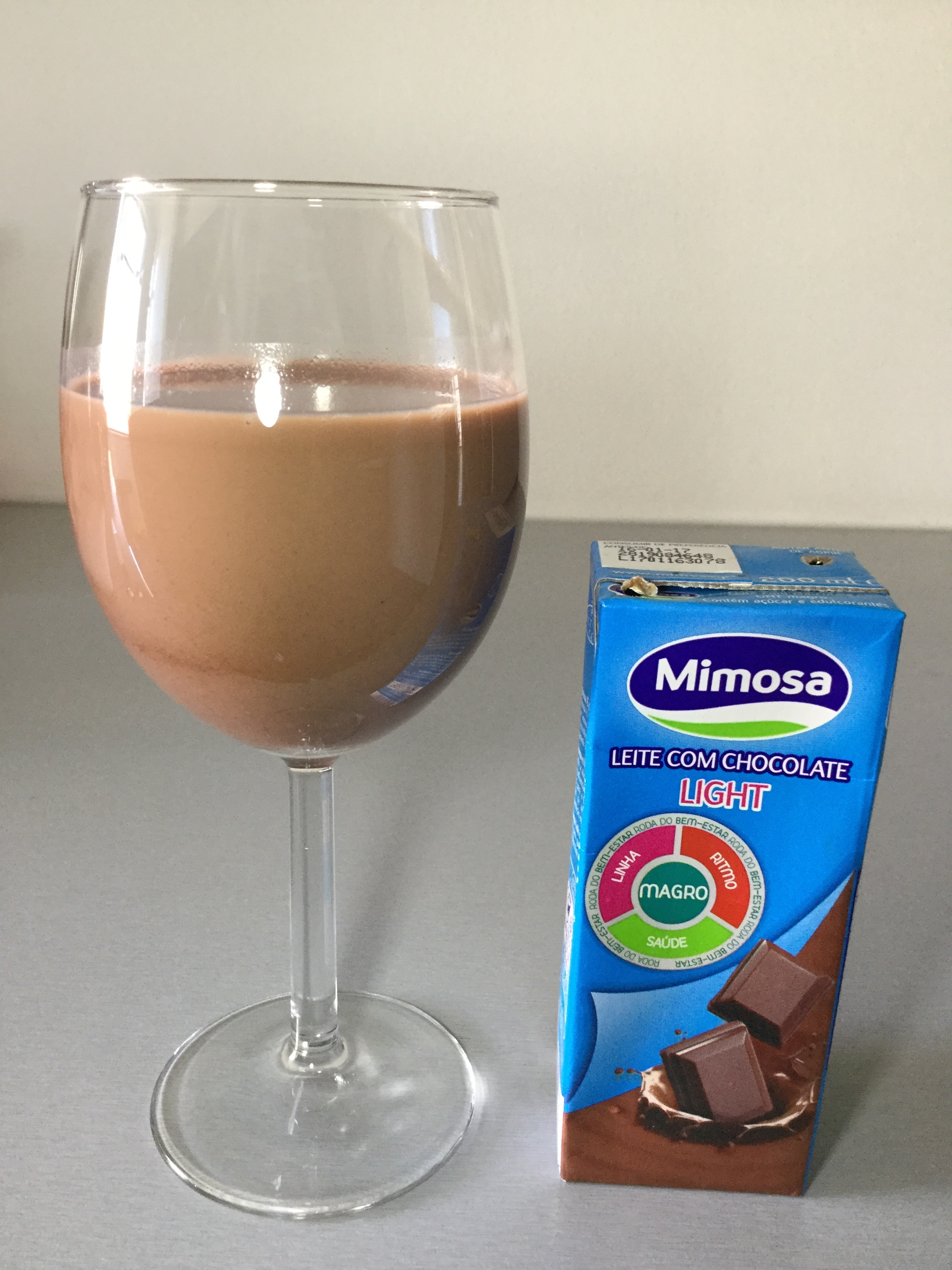 Mimosa Leite Com Chocolate Light Cup