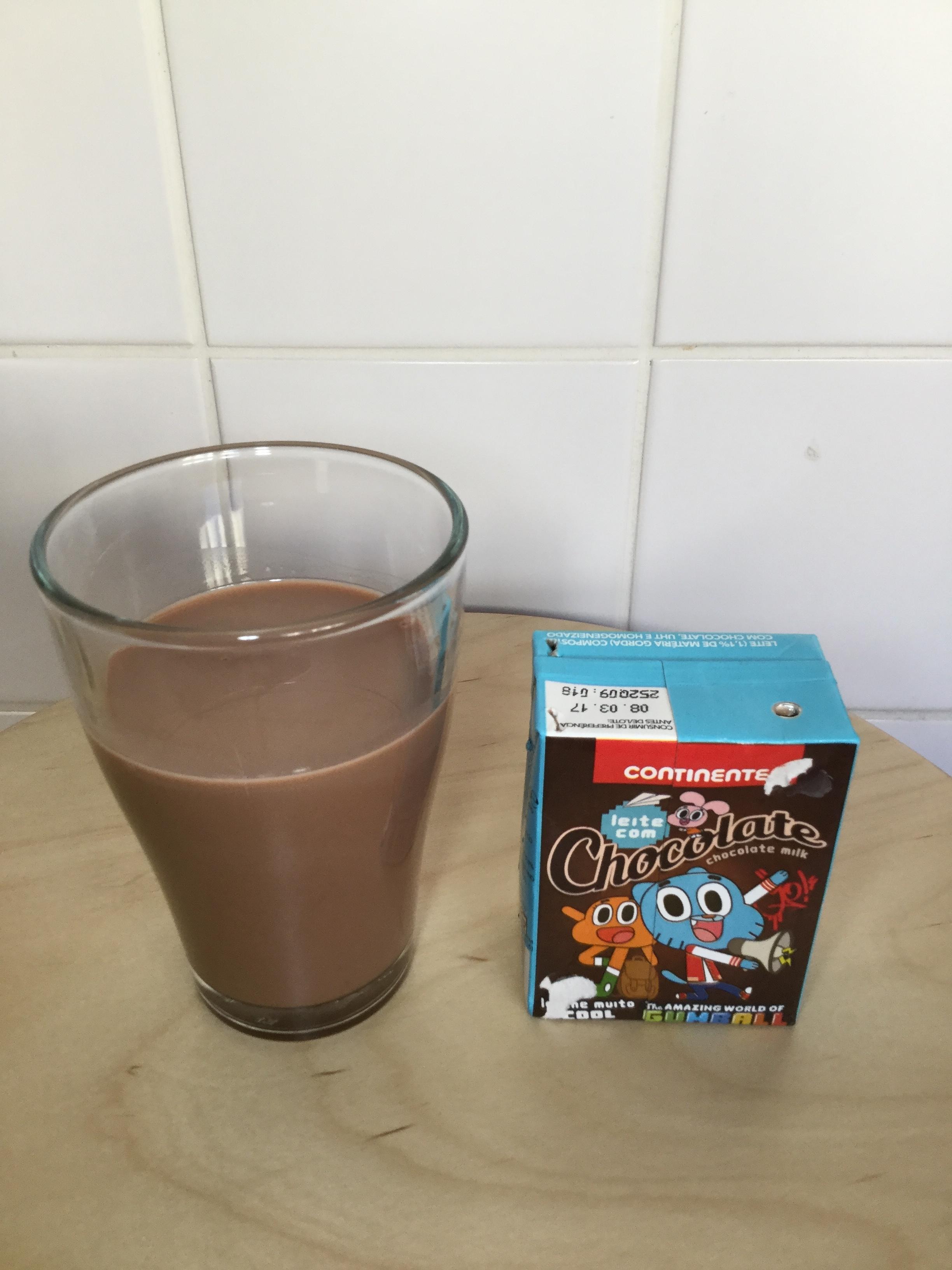 Continente Leite Com Chocolate Cup