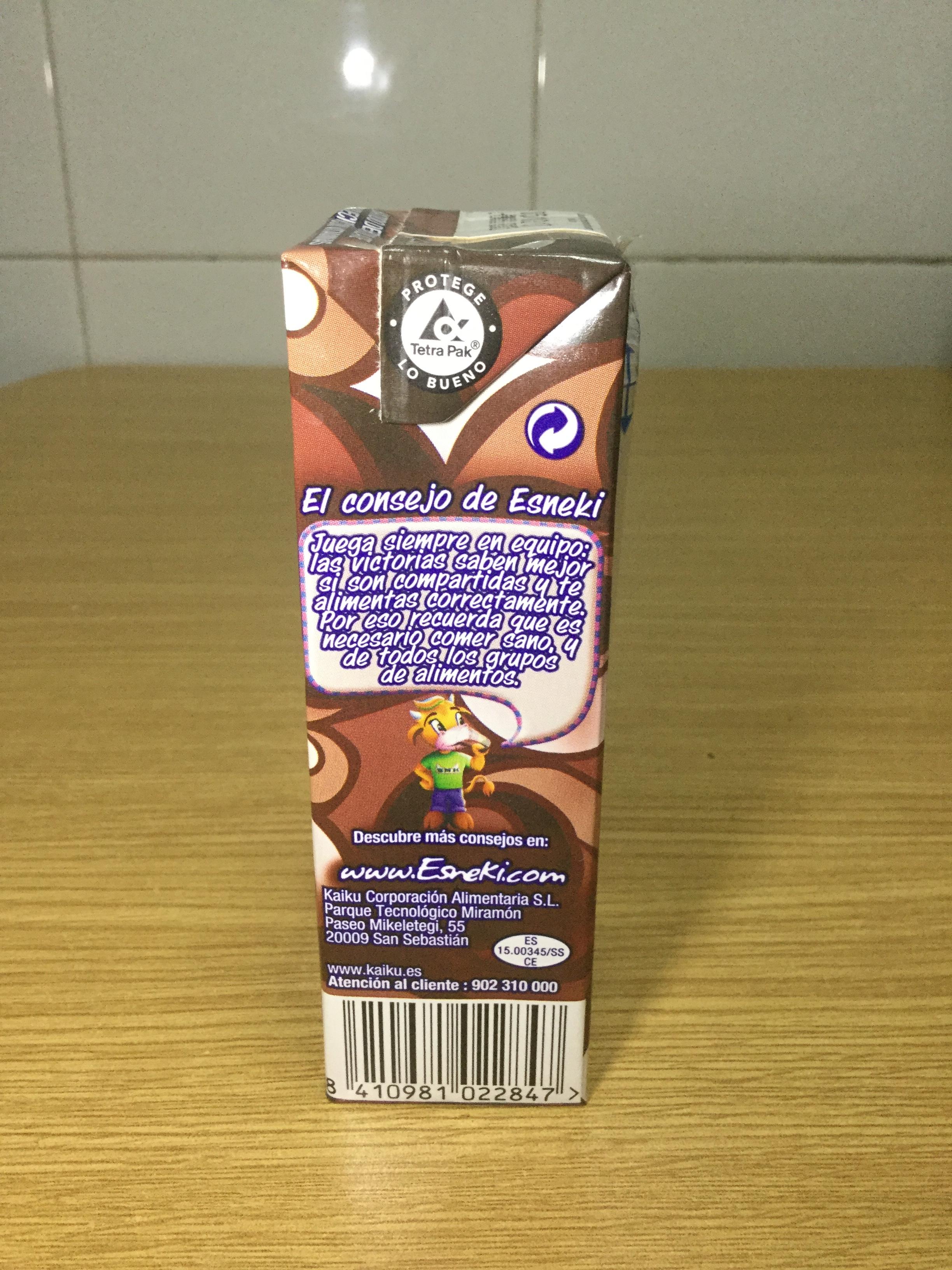Kaiku Batido De Chocolate Side 2