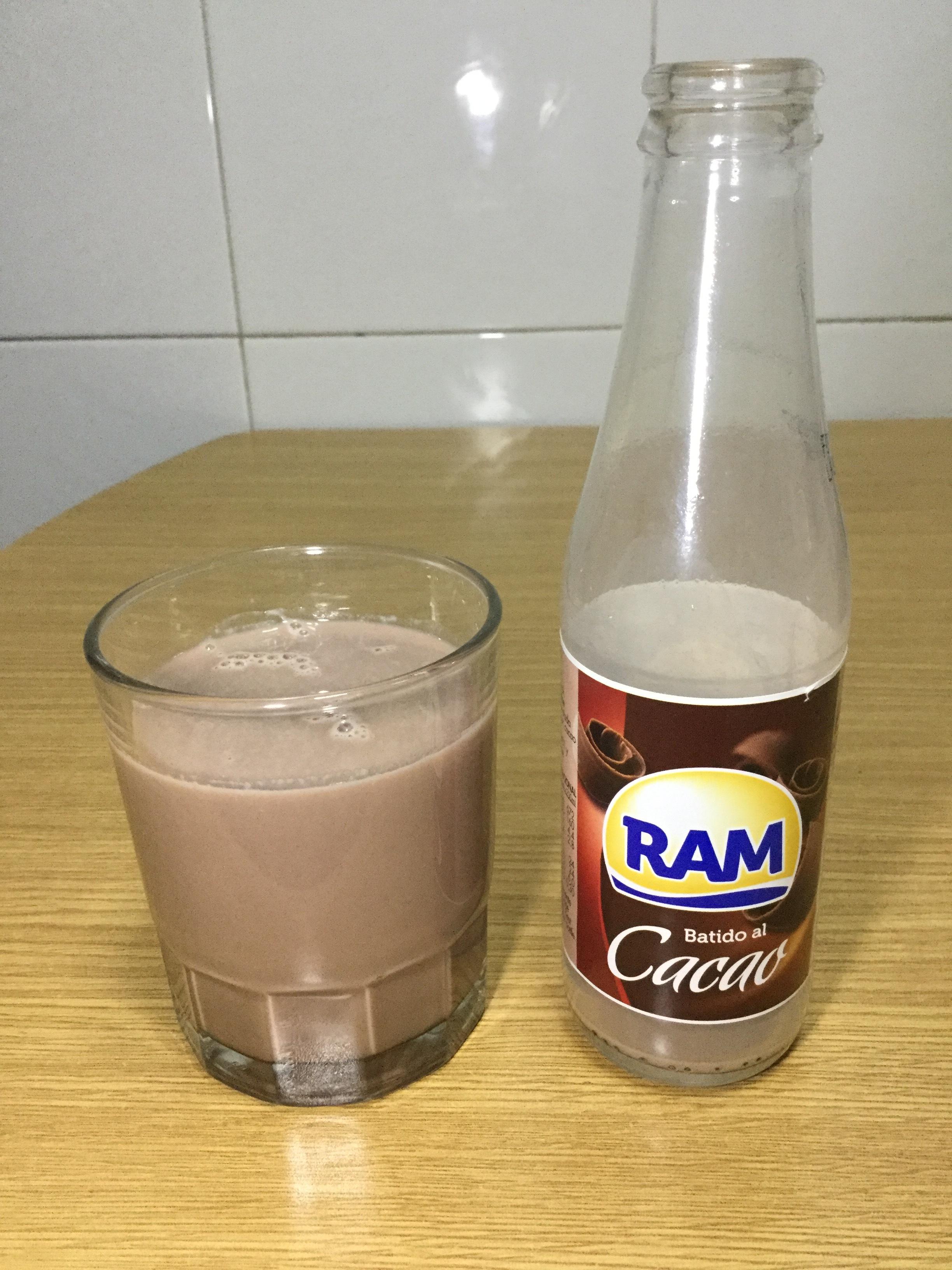 Ram Batido Al Cacao Cup