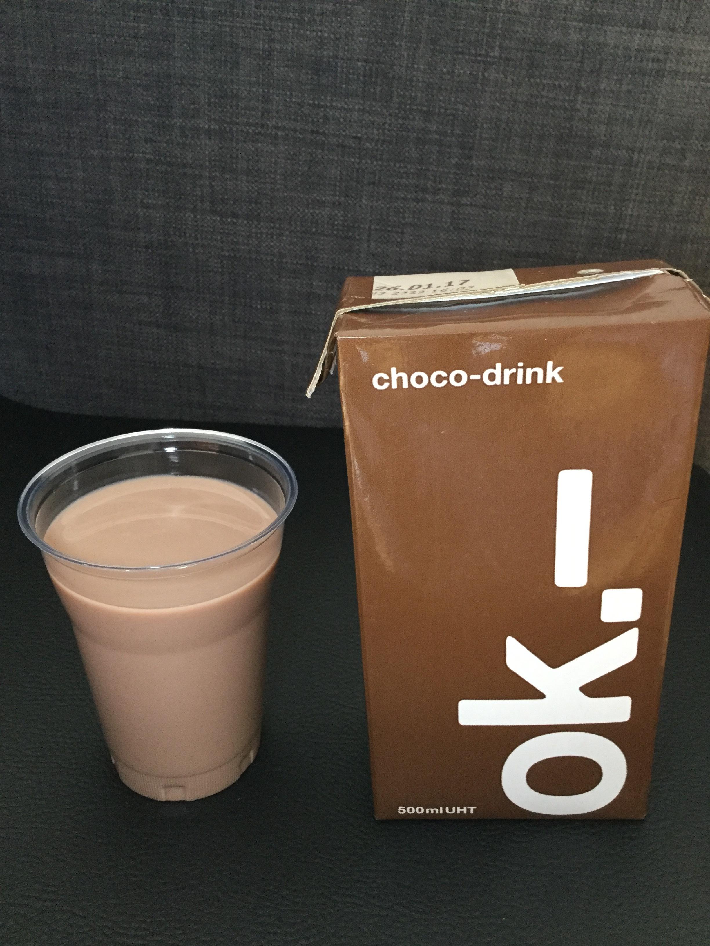 Ok.- Choco-Drink Cup