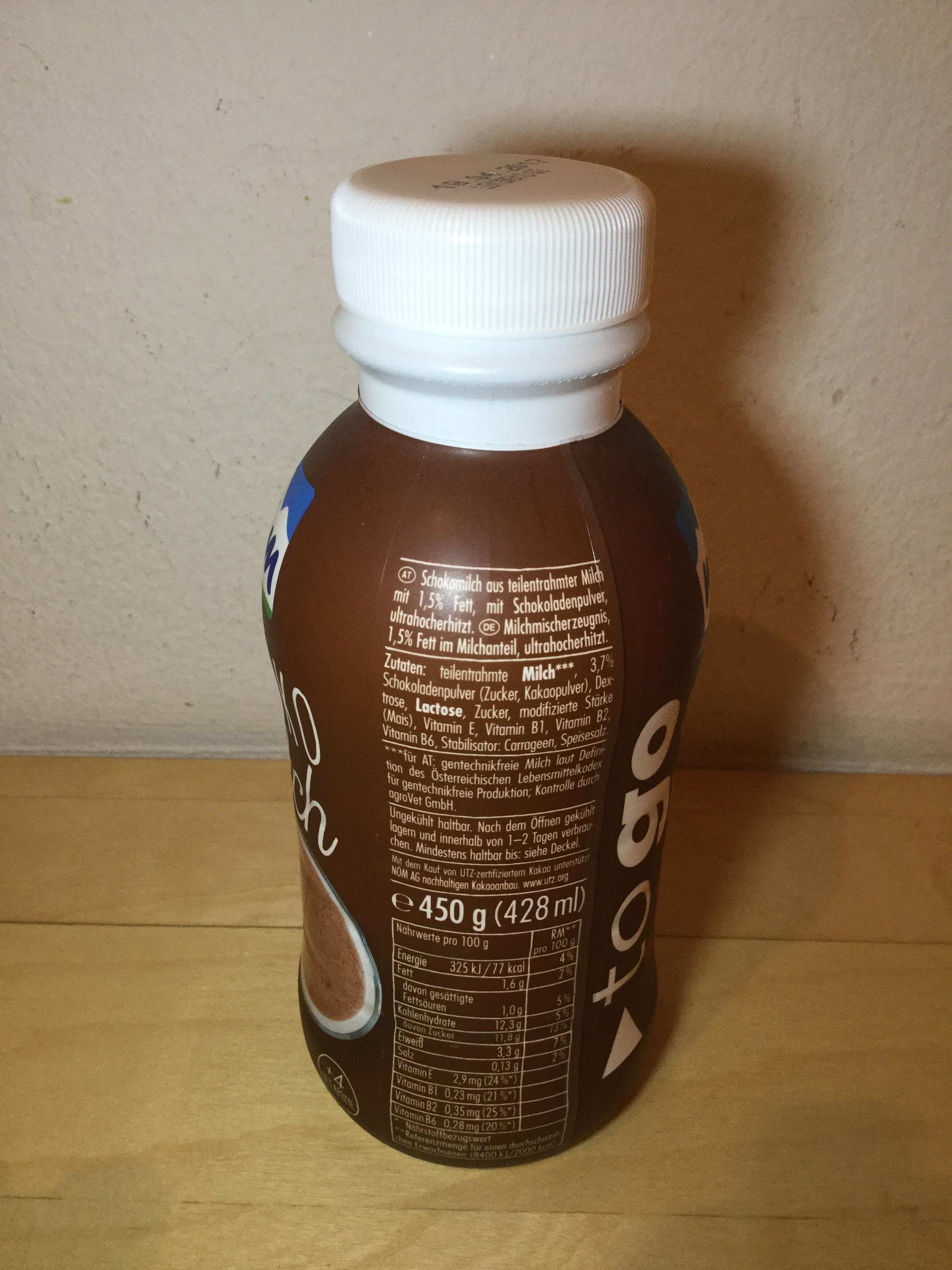 Nom To Go Schoko Milch Side 1