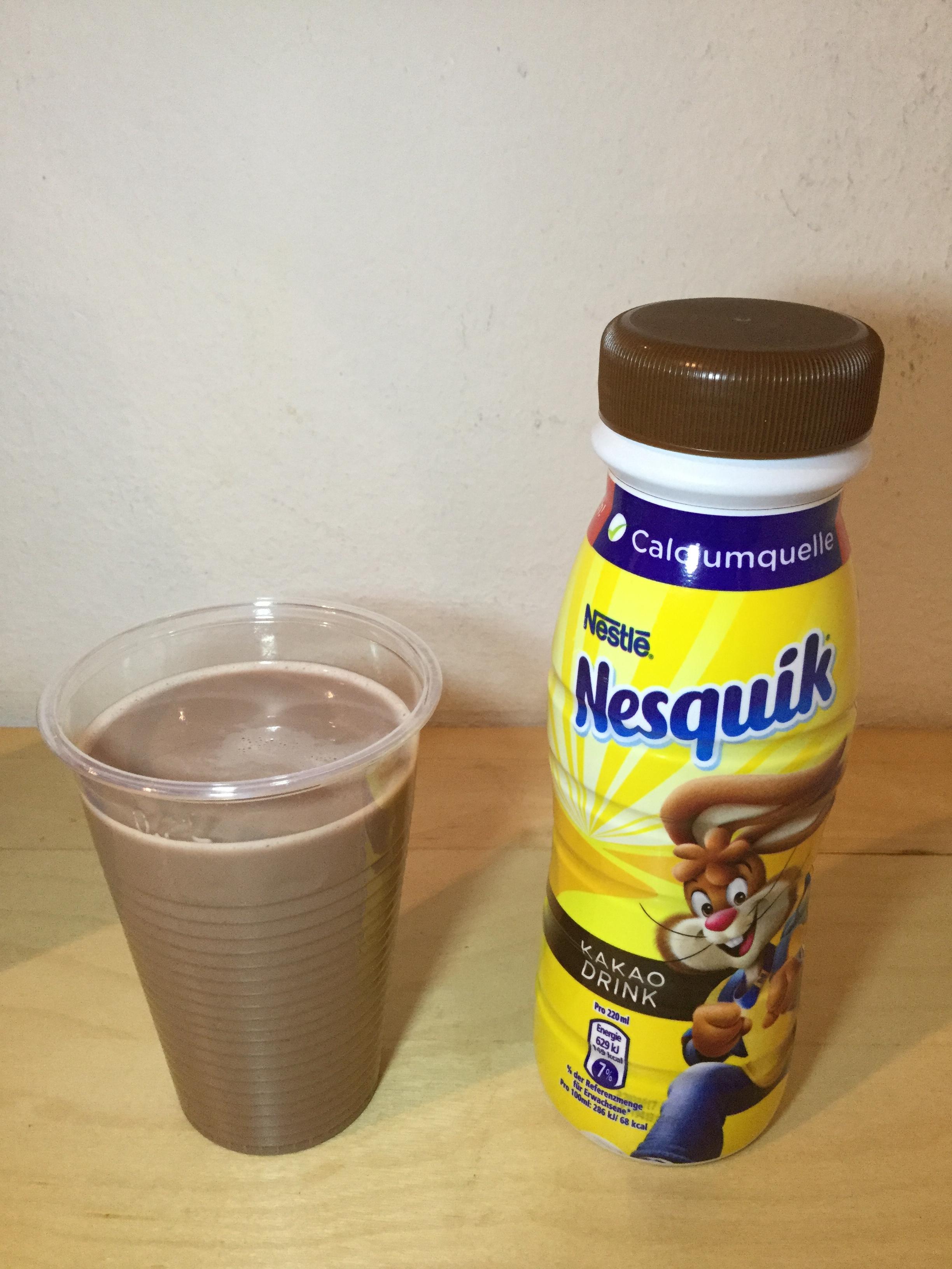 Nestle Nesquik Kakao Drink (Austria) Cup