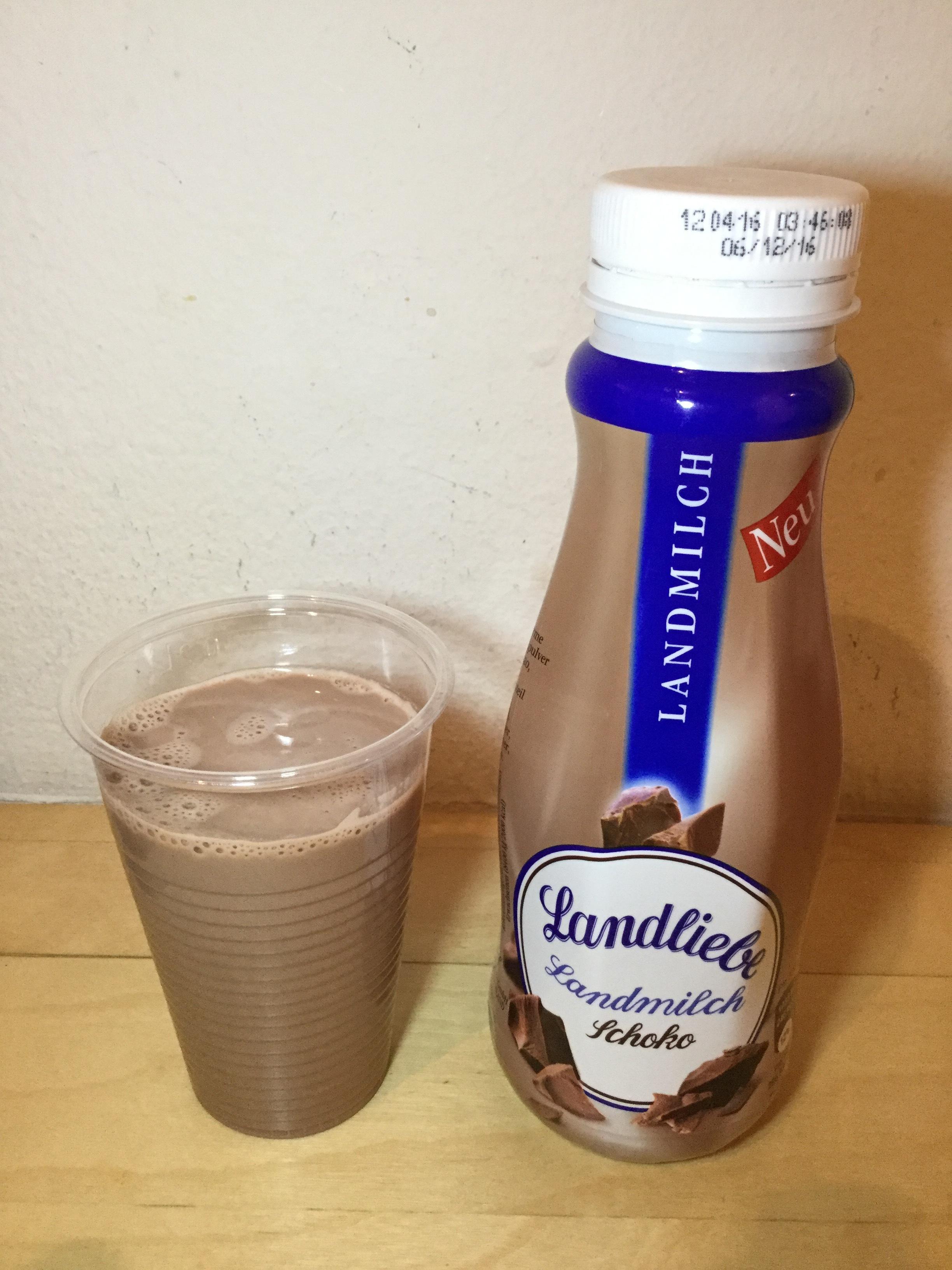 Landliebe Landmilch Schoko Cup