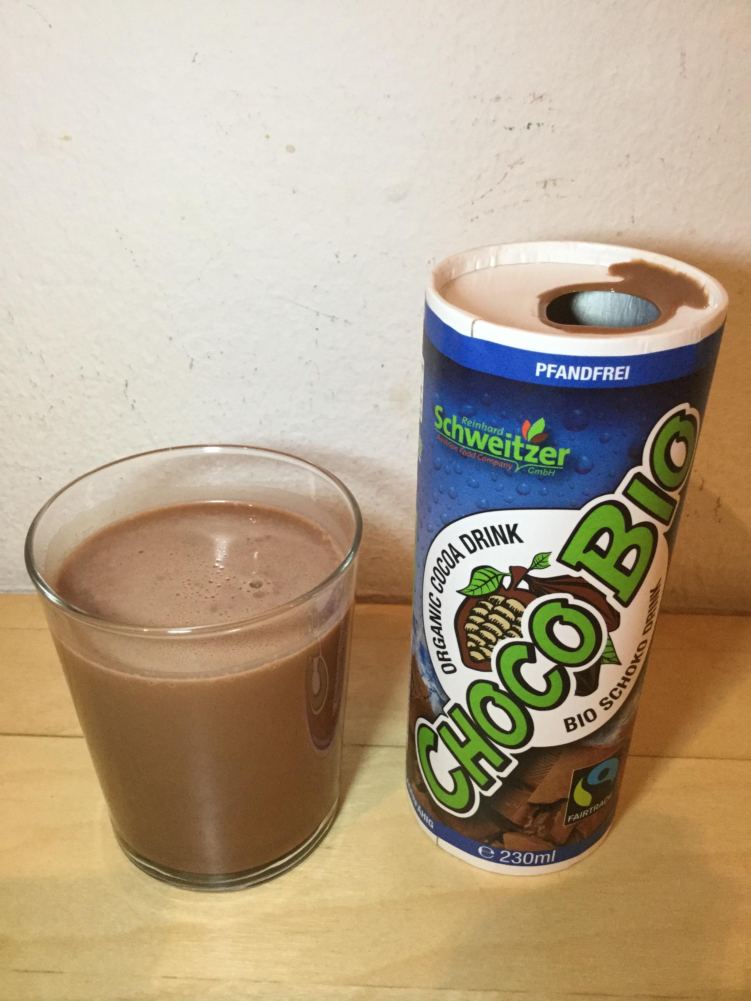 Schweitzer Choco Bio Organic Cocoa Drink Cup