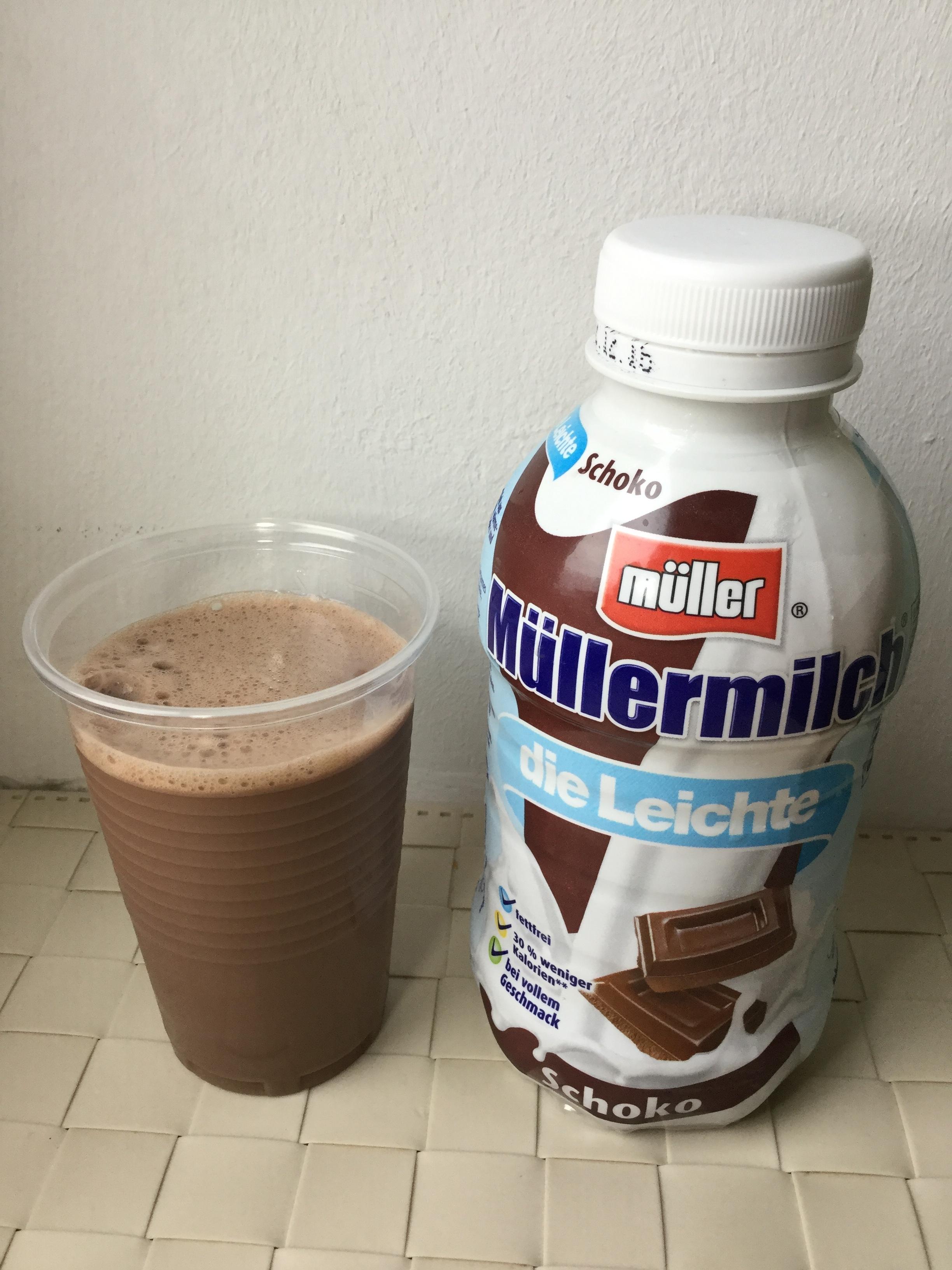 Müllermilch Die Leichte Schoko Cup