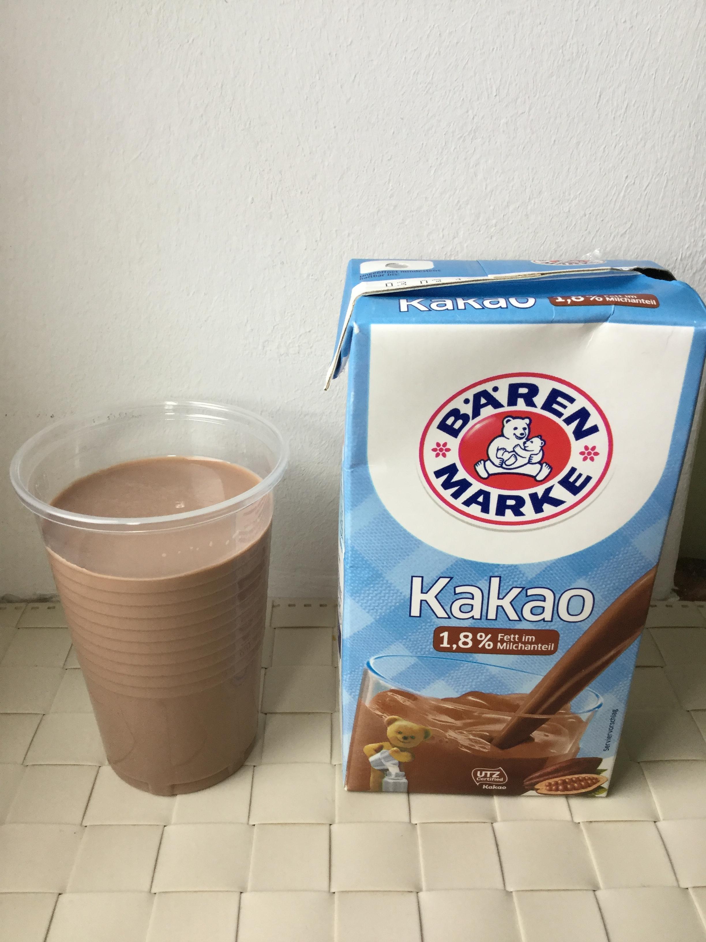 Baren Marke Kakao (1.8%) UHT Cup