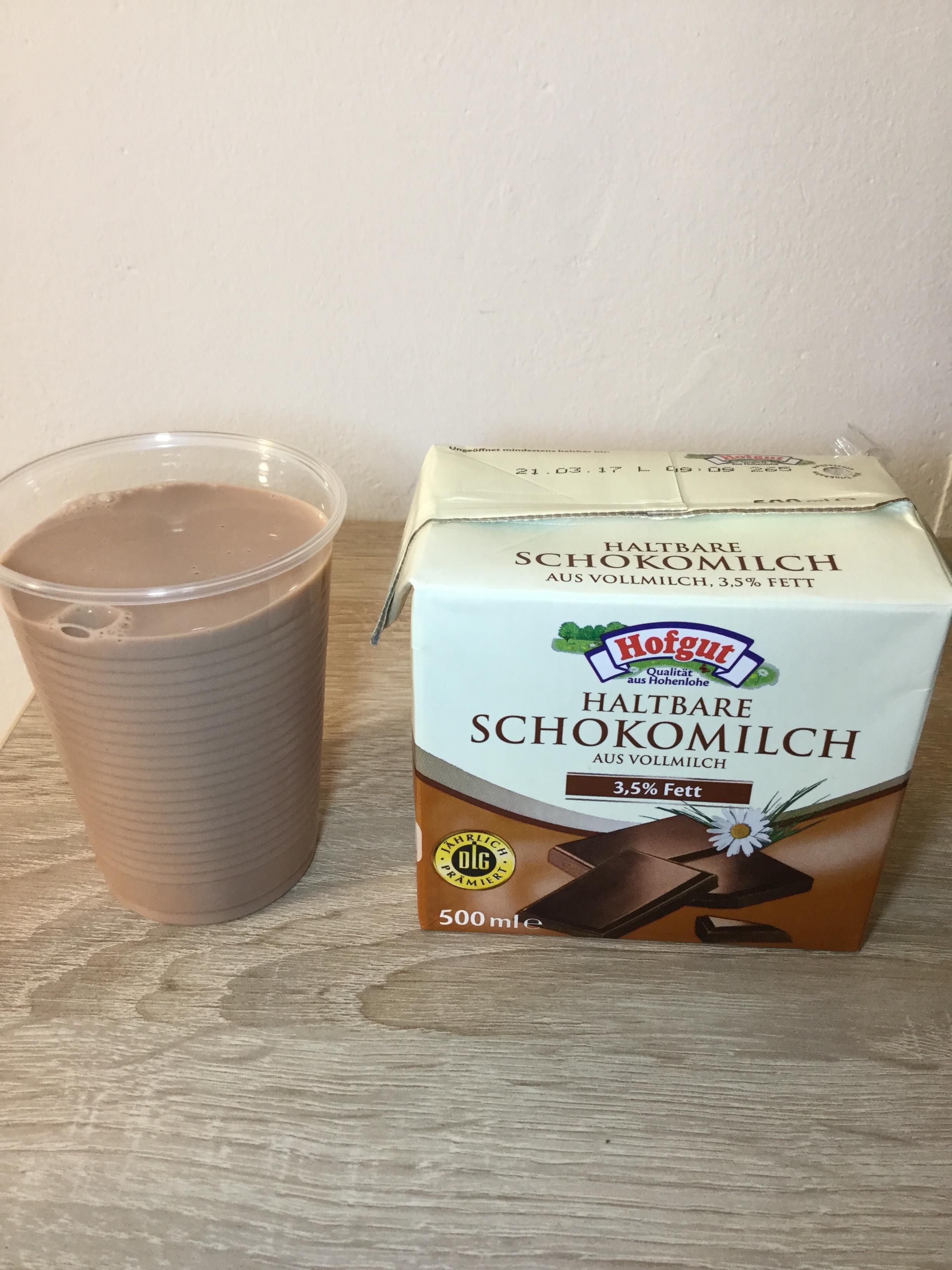 Hofgut Haltbare Schokomilch Cup