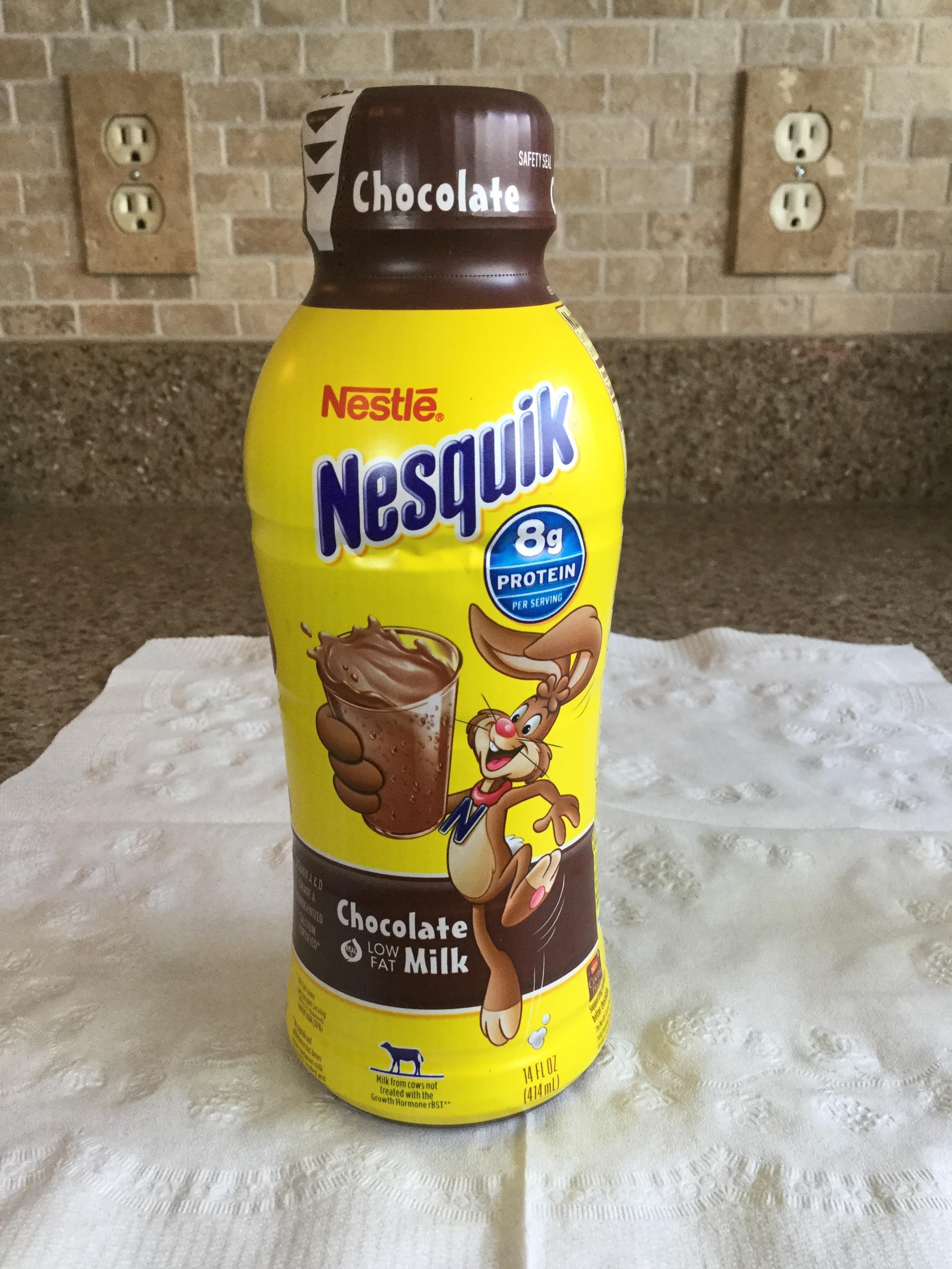 Nestle Nesquik Low Fat Chocolate Milk Side 3