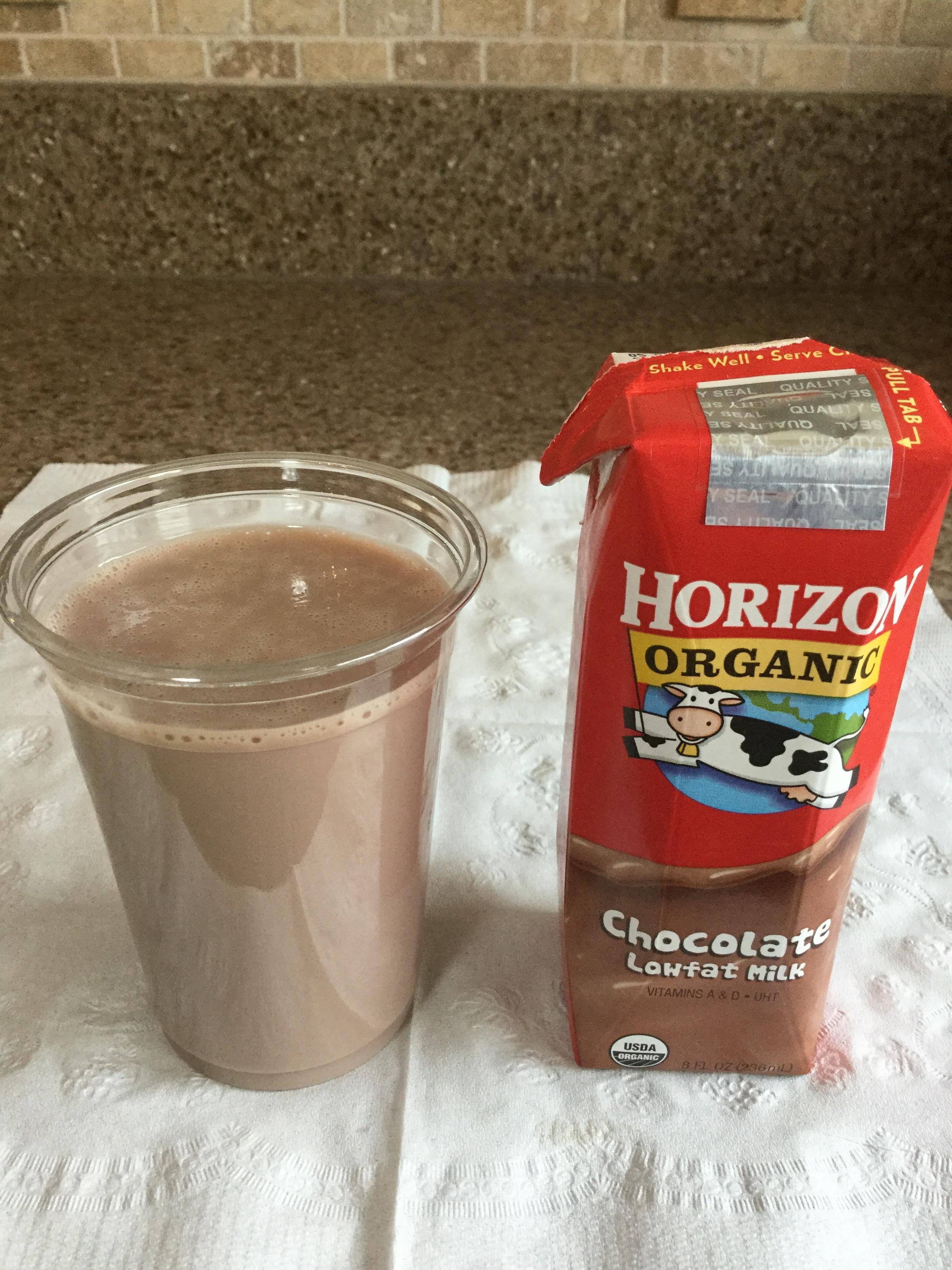 Horizon Organic Chocolate Lowfat Milk (UHT) Cup