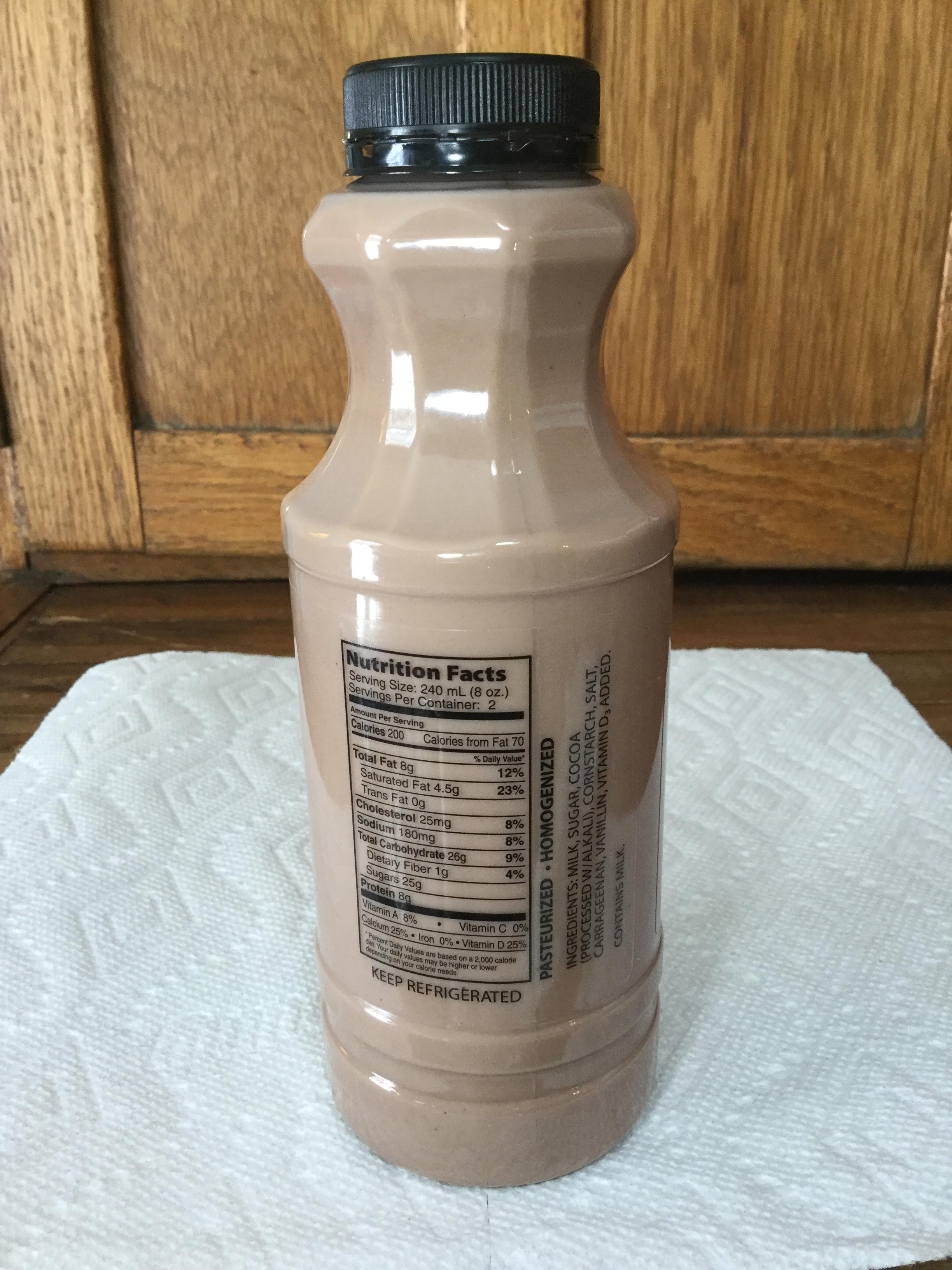 Arps Dairy Chocolate Milk Side 1