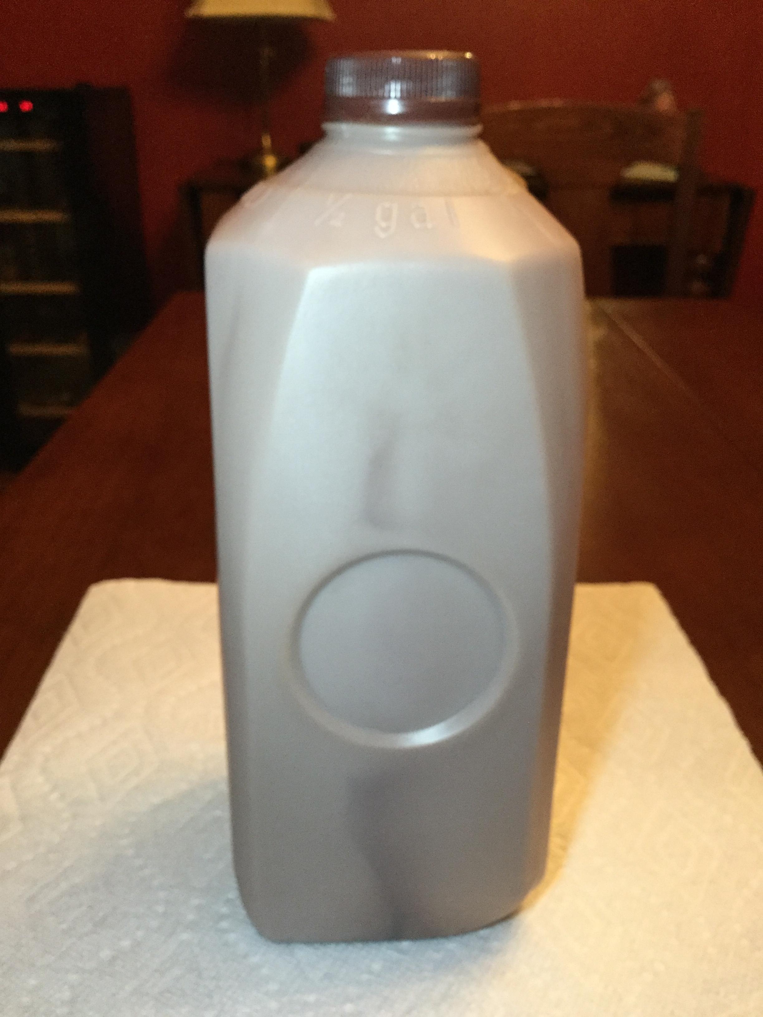 Tops Lowfat Chocolate Milk Side 1