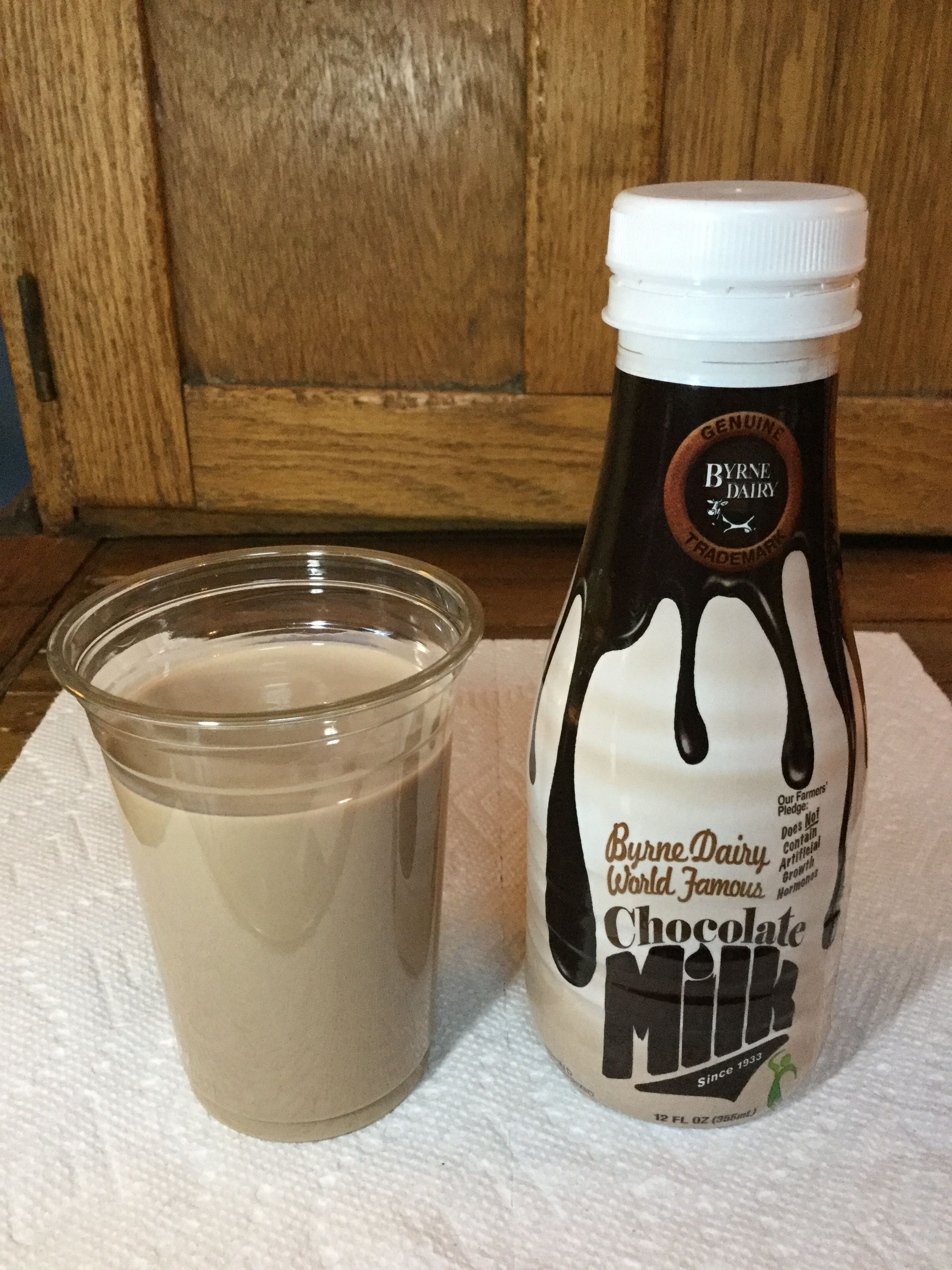Byrne Dairy World Famous Chocolate Milk Cup