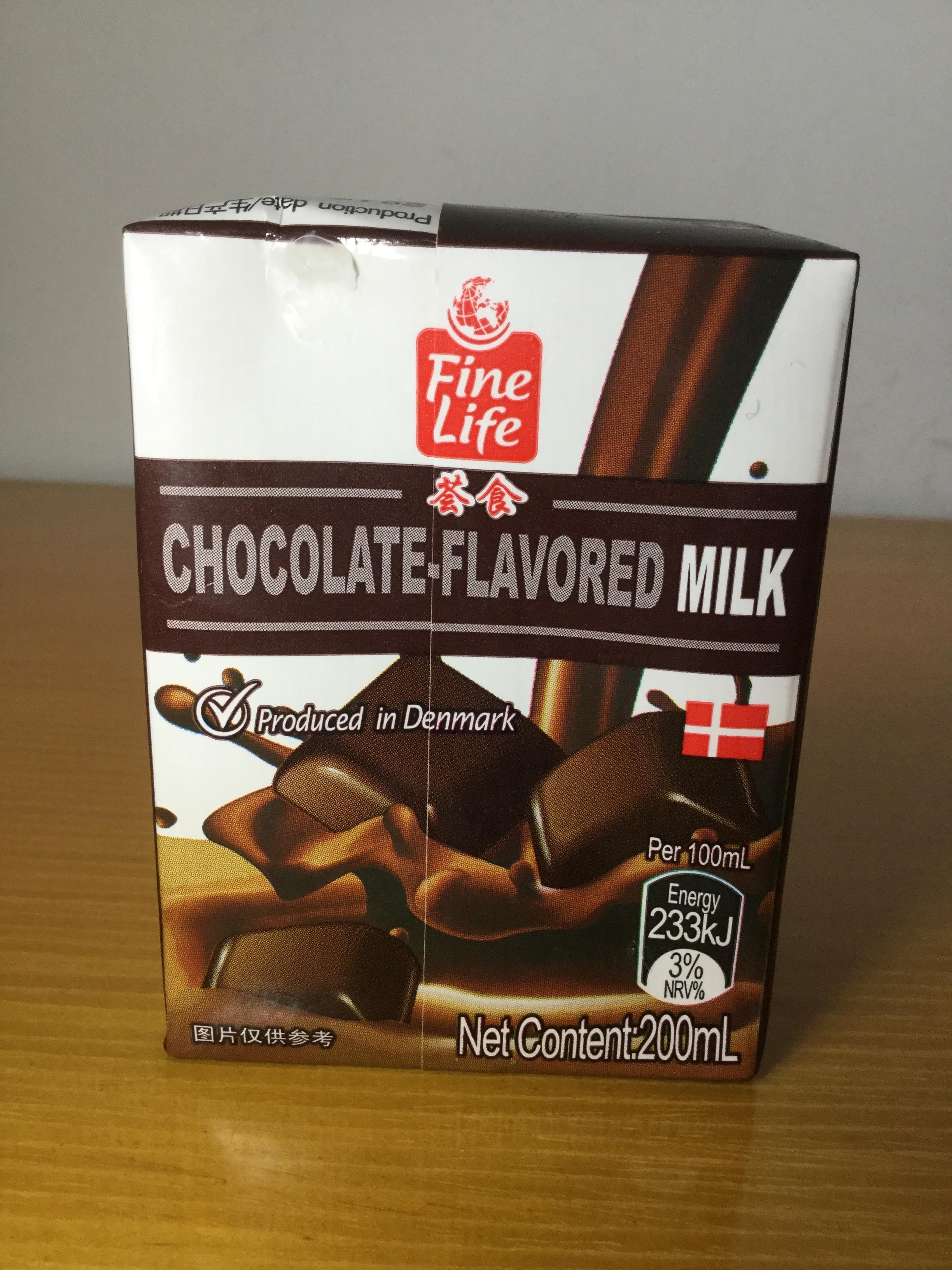 Fine Life Chocolate Flavored Milk Side 3