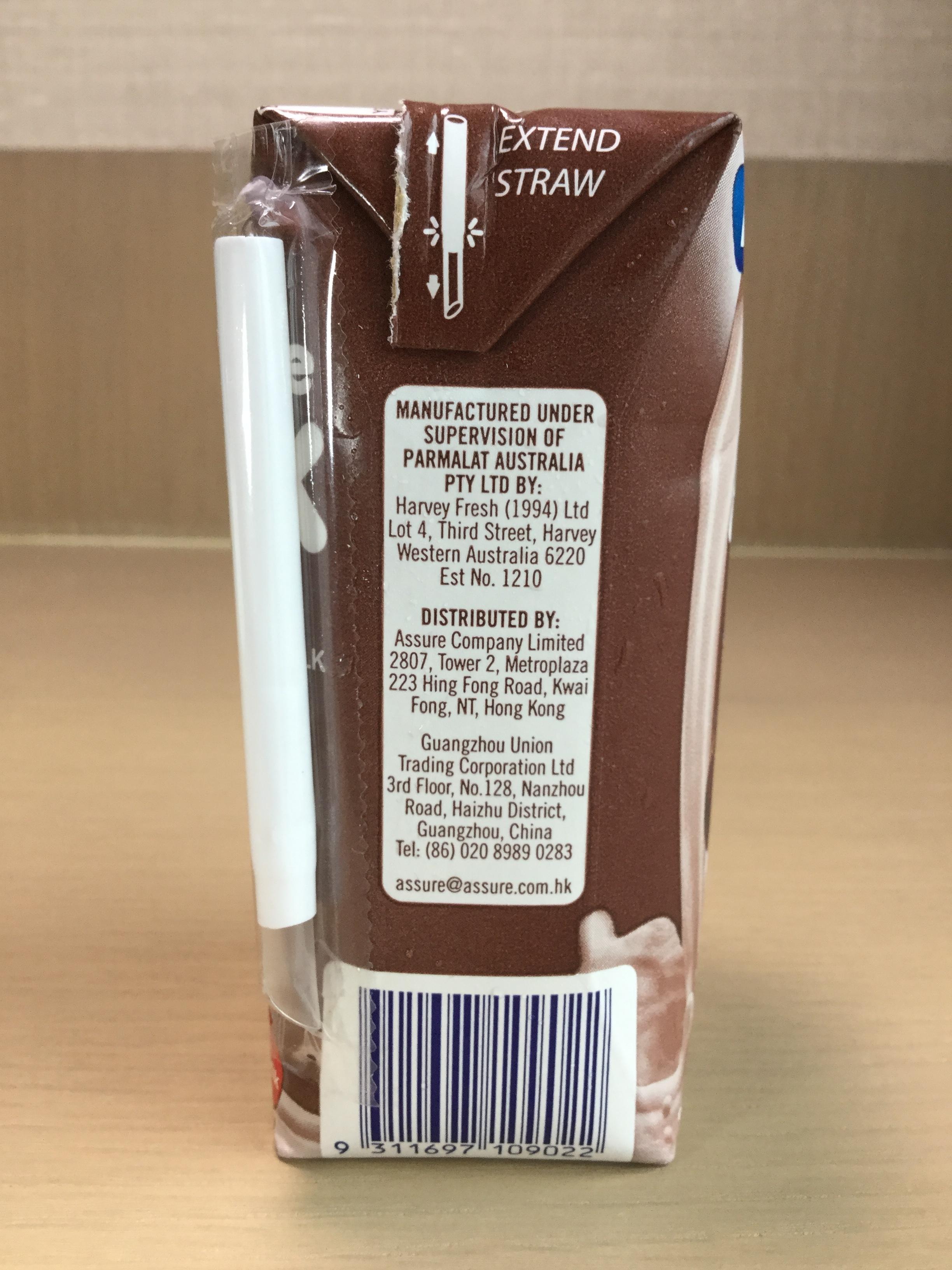 Pauls Chocolate Milk Beverage Side 2