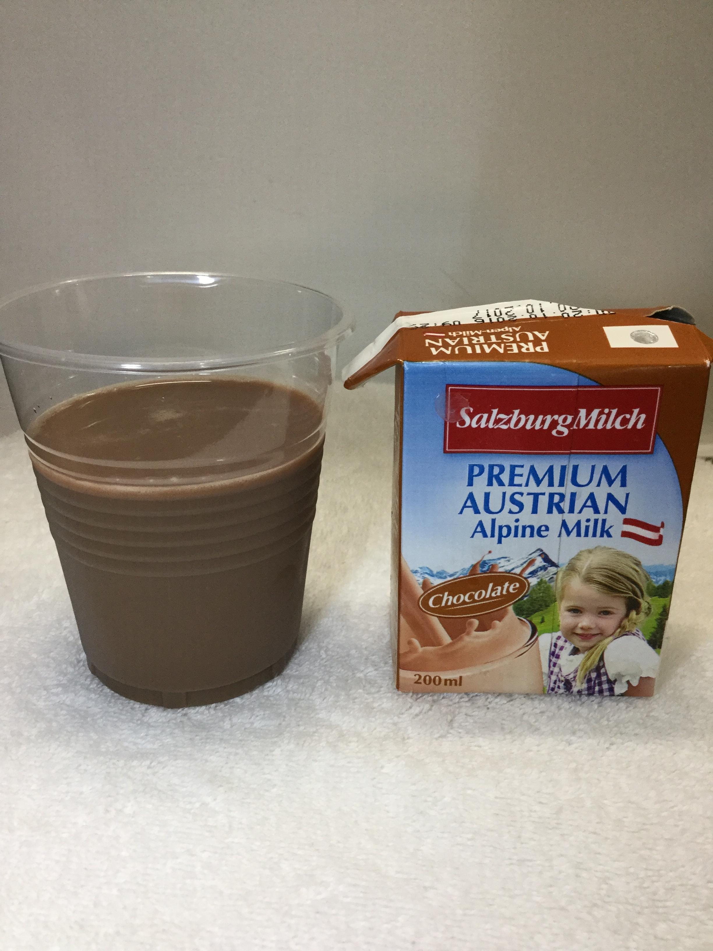 Salzburg Milch Premium Austrian Alpine Chocolate Milk Cup