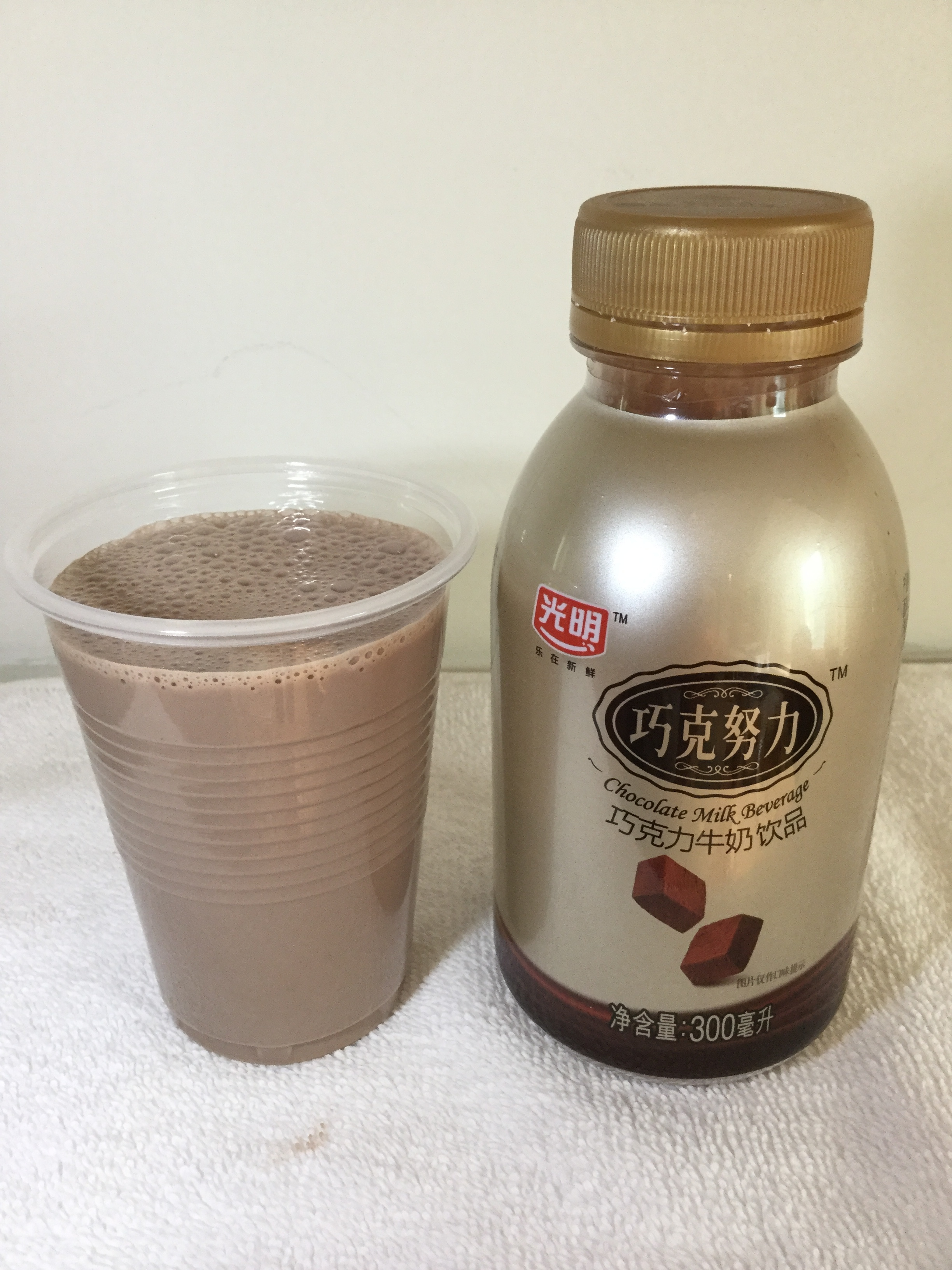 Bright Dairy Chocolate Milk (Whole) Cup