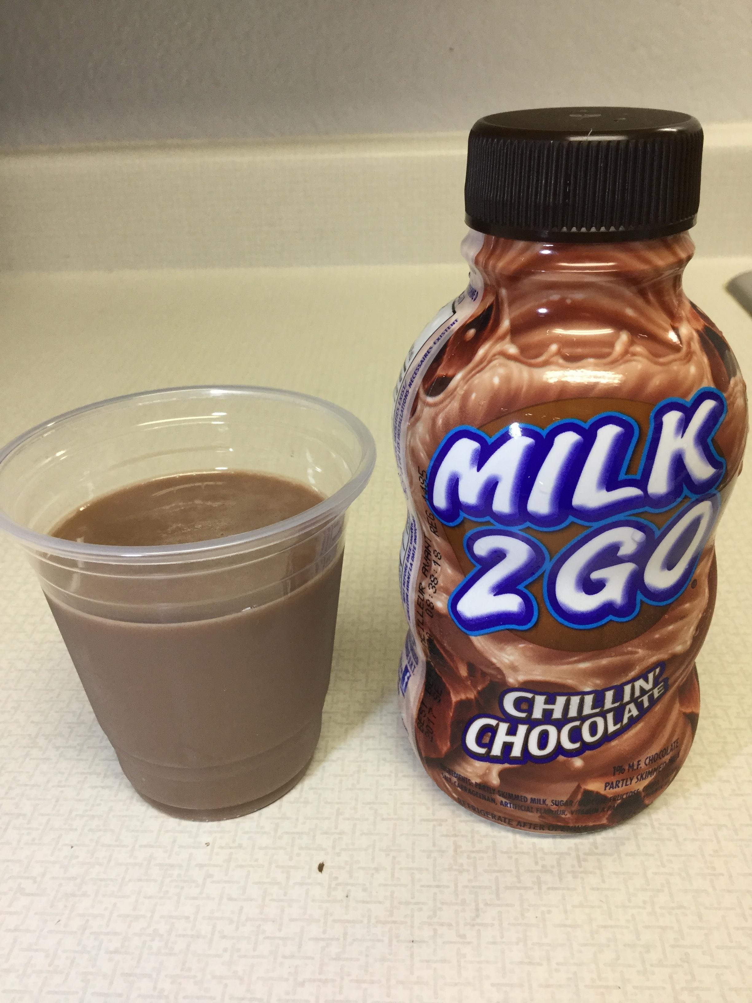 Saputo Milk 2 Go Chillin' Chocolate Cup