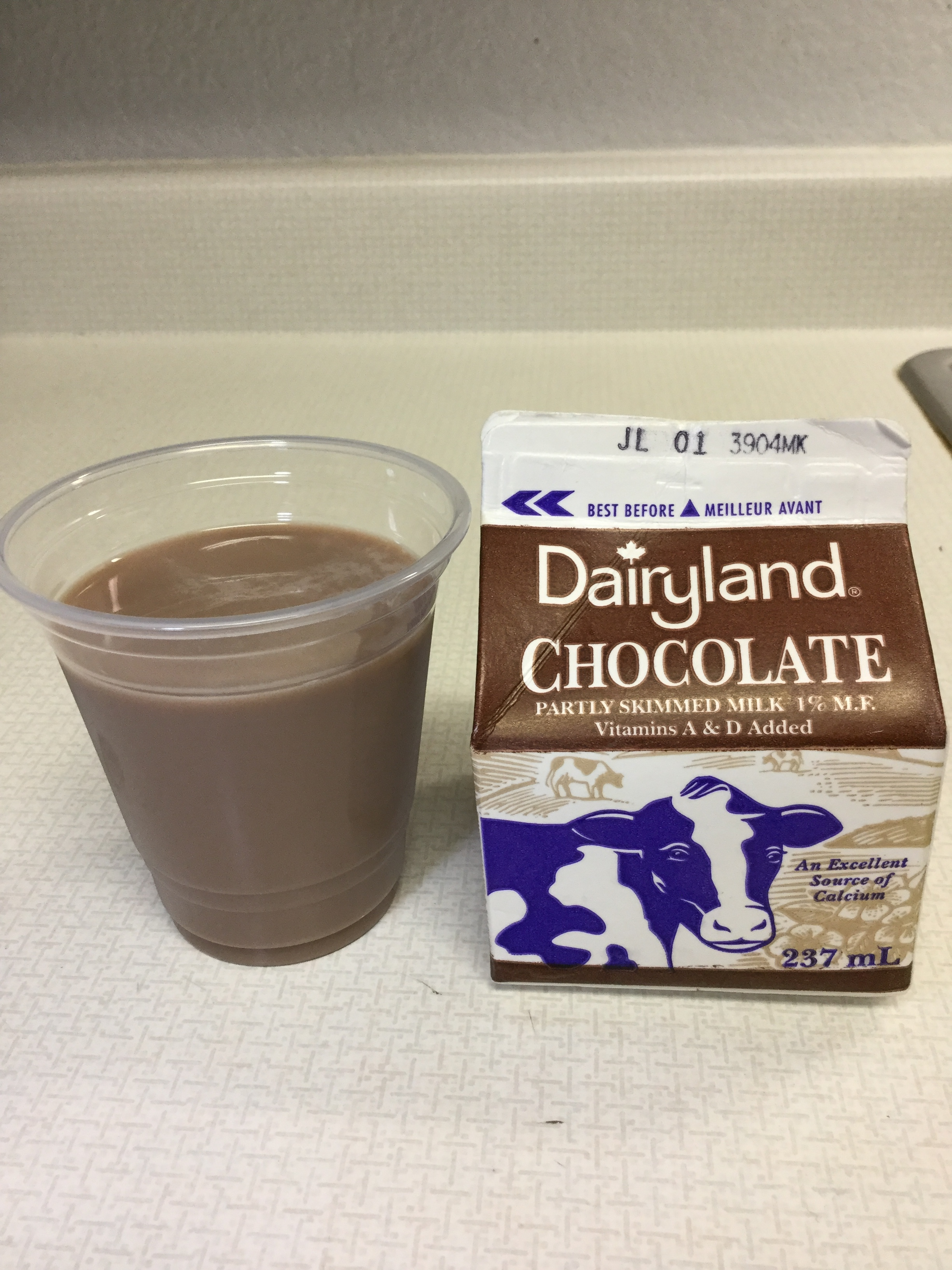 Dairyland Chocolate Partly Skimmed Milk Cup