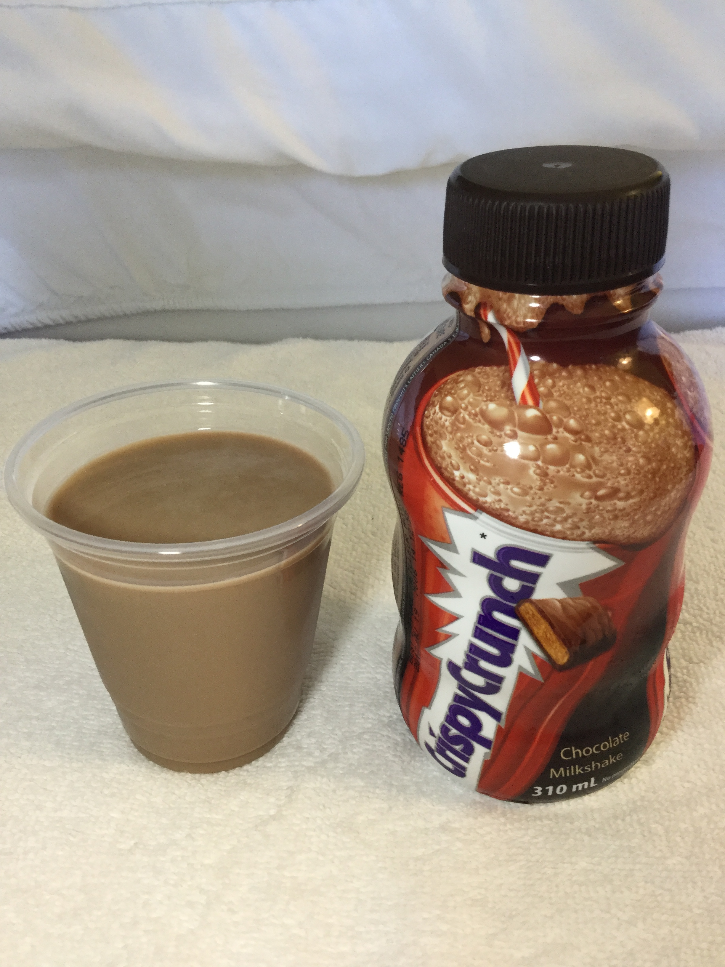 Saputo Crispy Crunch Chocolate Milkshake Cup