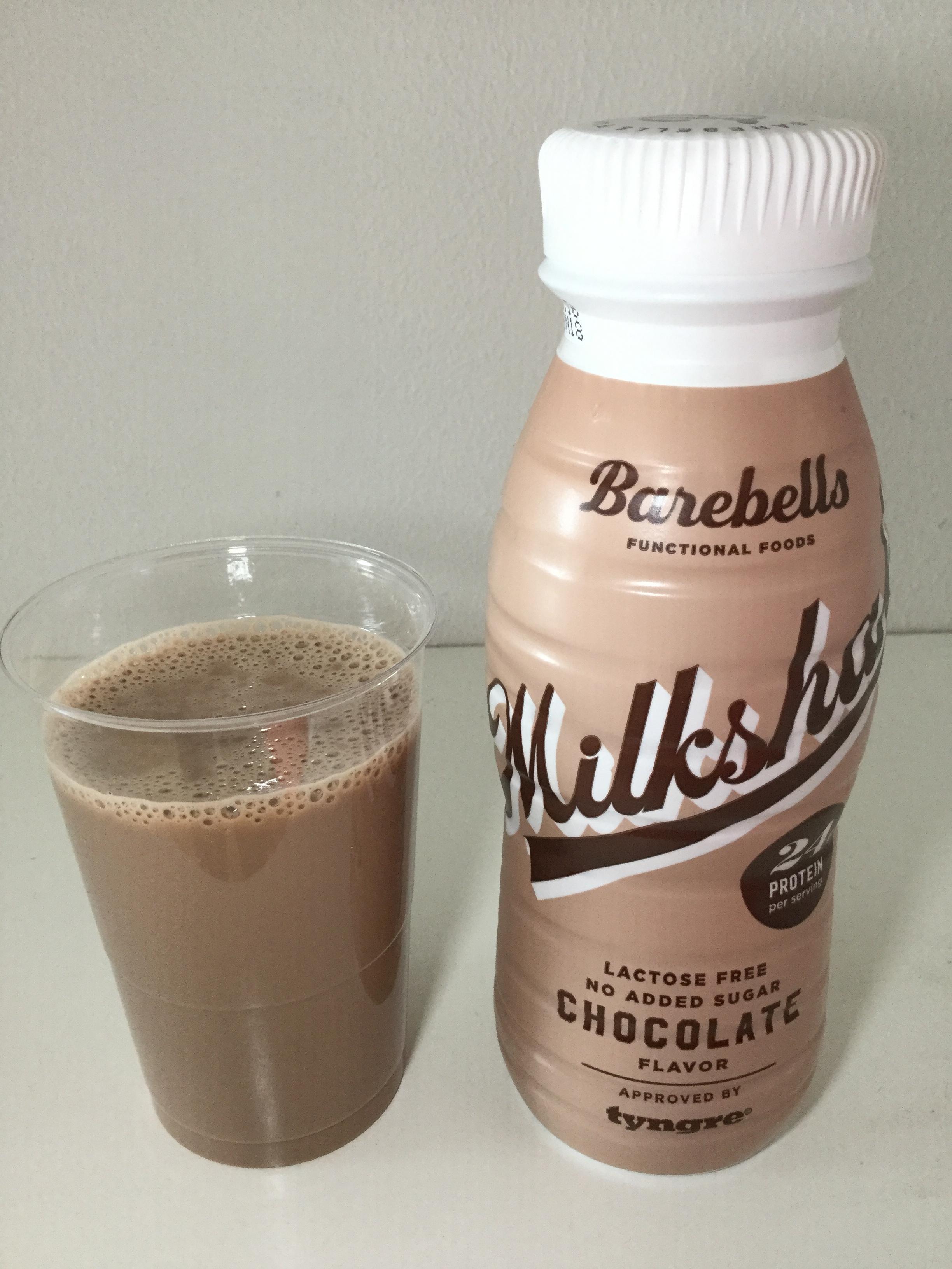Barebells Chocolate Flavor Milkshake Cup