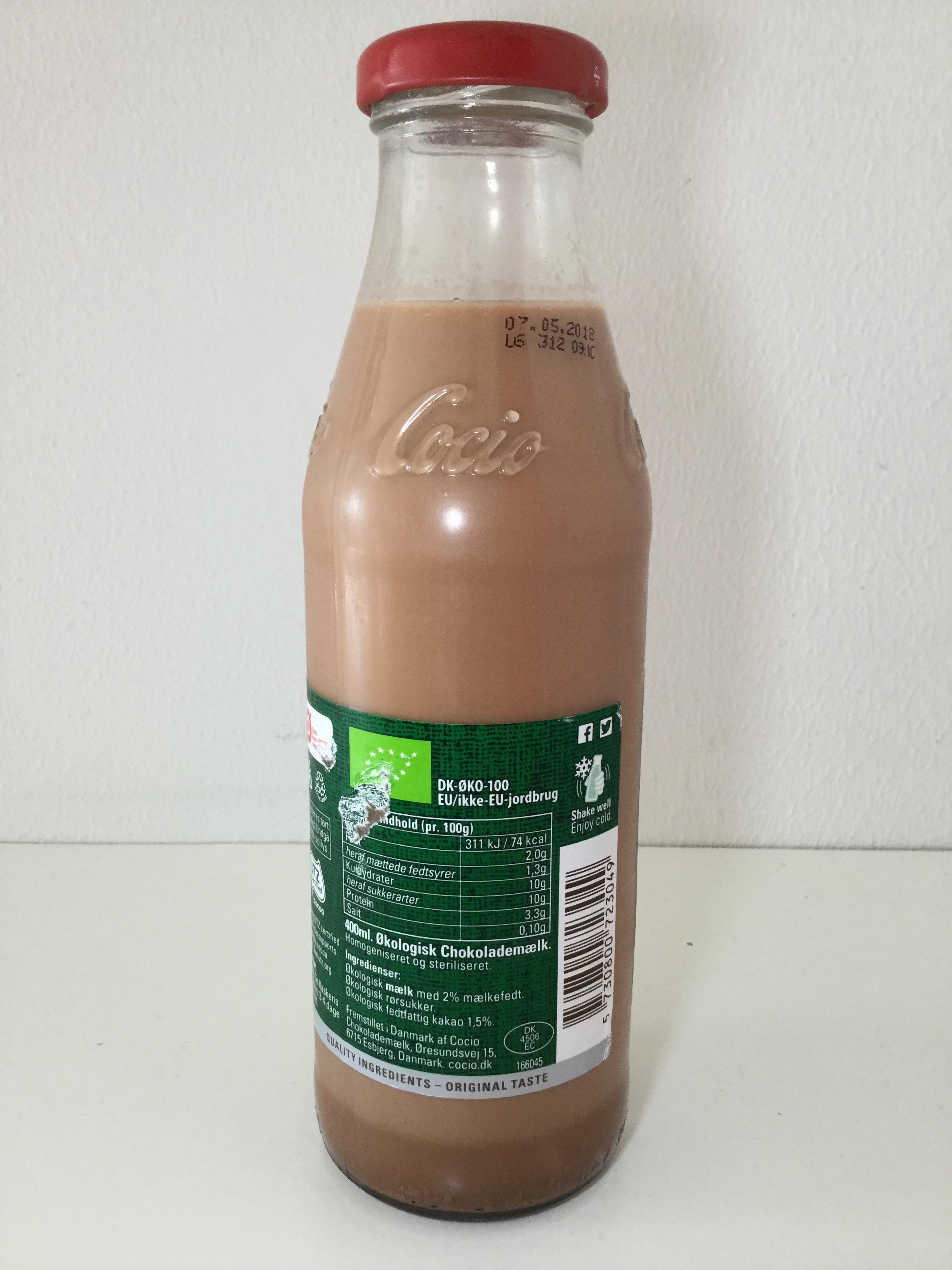 Cocio Okologisk Chocolademaelk Side 1