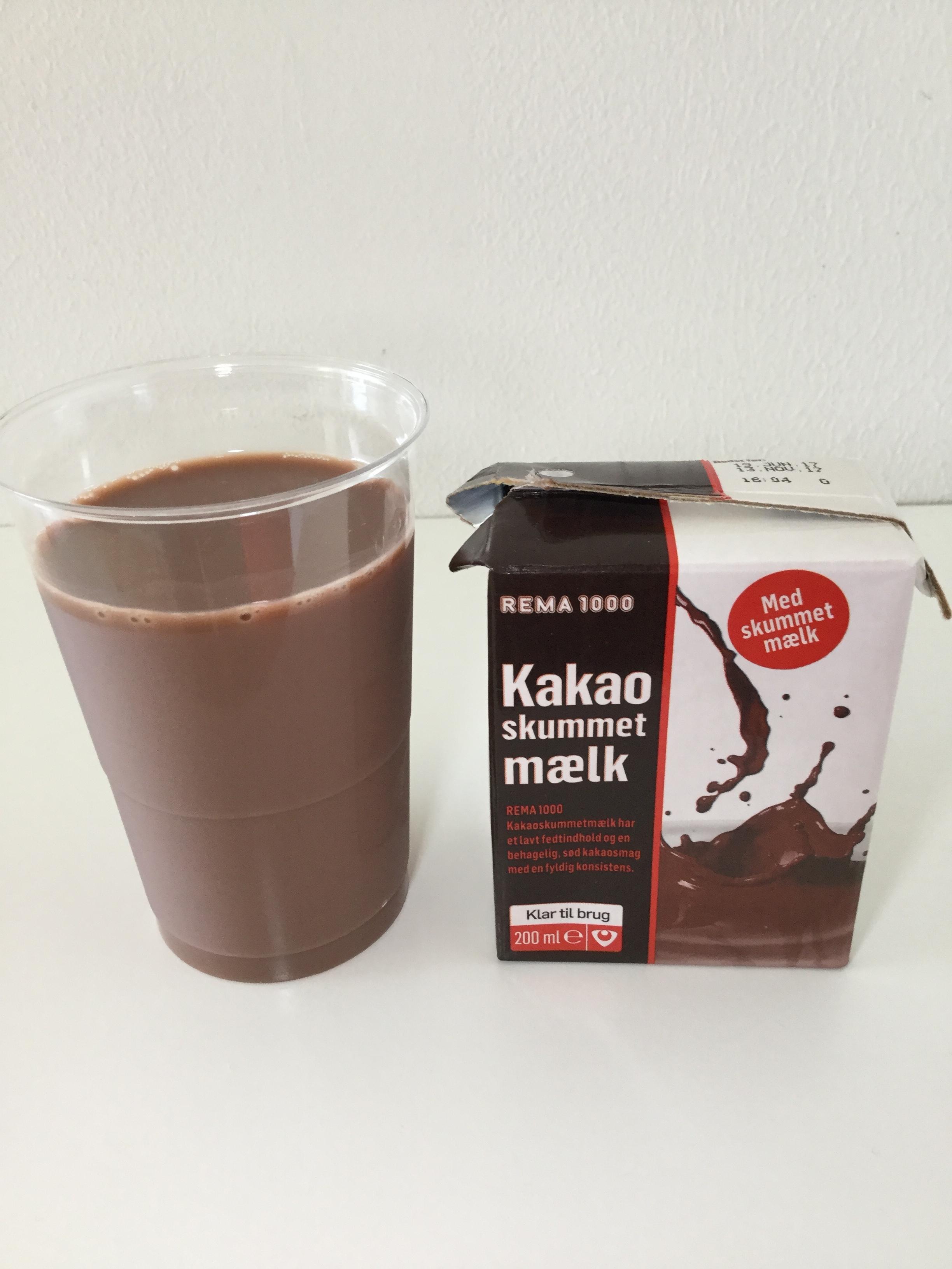 REMA 1000 Kakao Skummetmaelk Cup