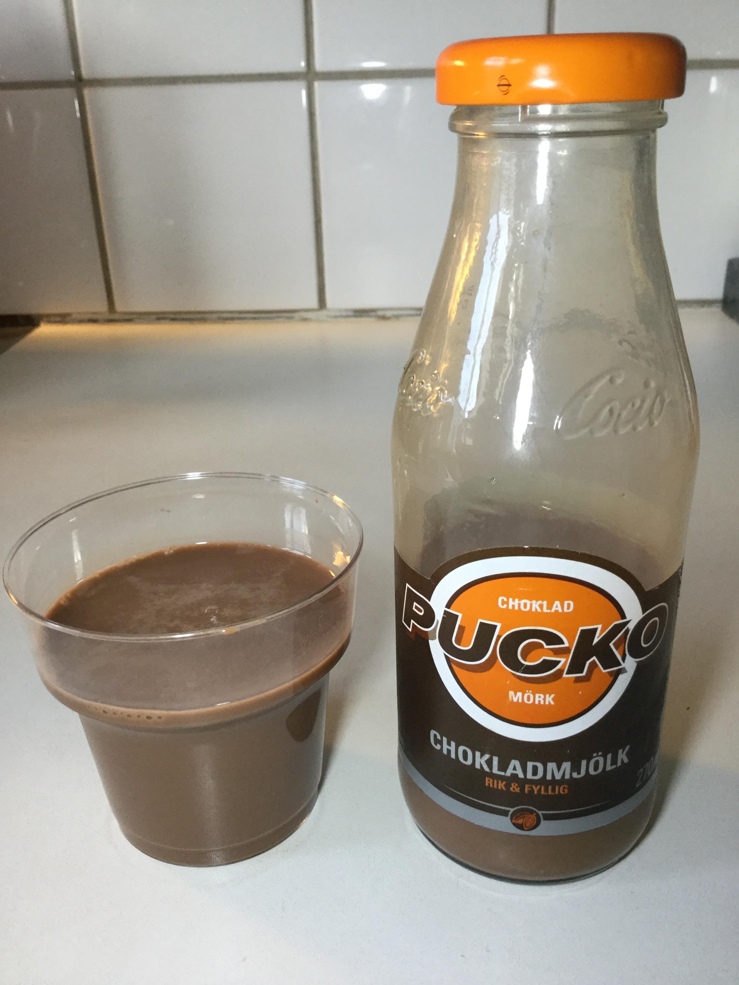 Pucko Dark Chokladmjölk Cup