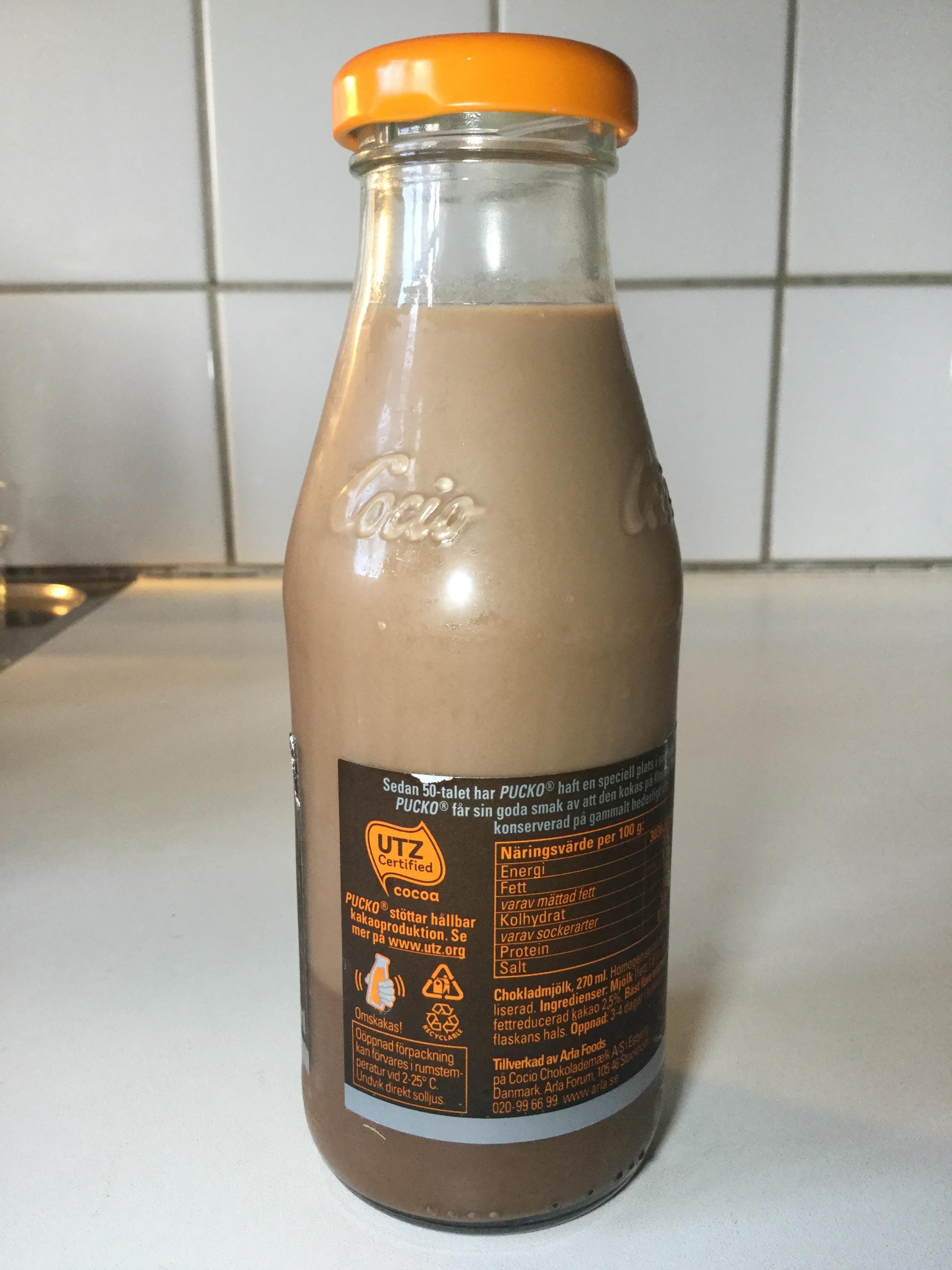 Pucko Dark Chokladmjölk Side 2