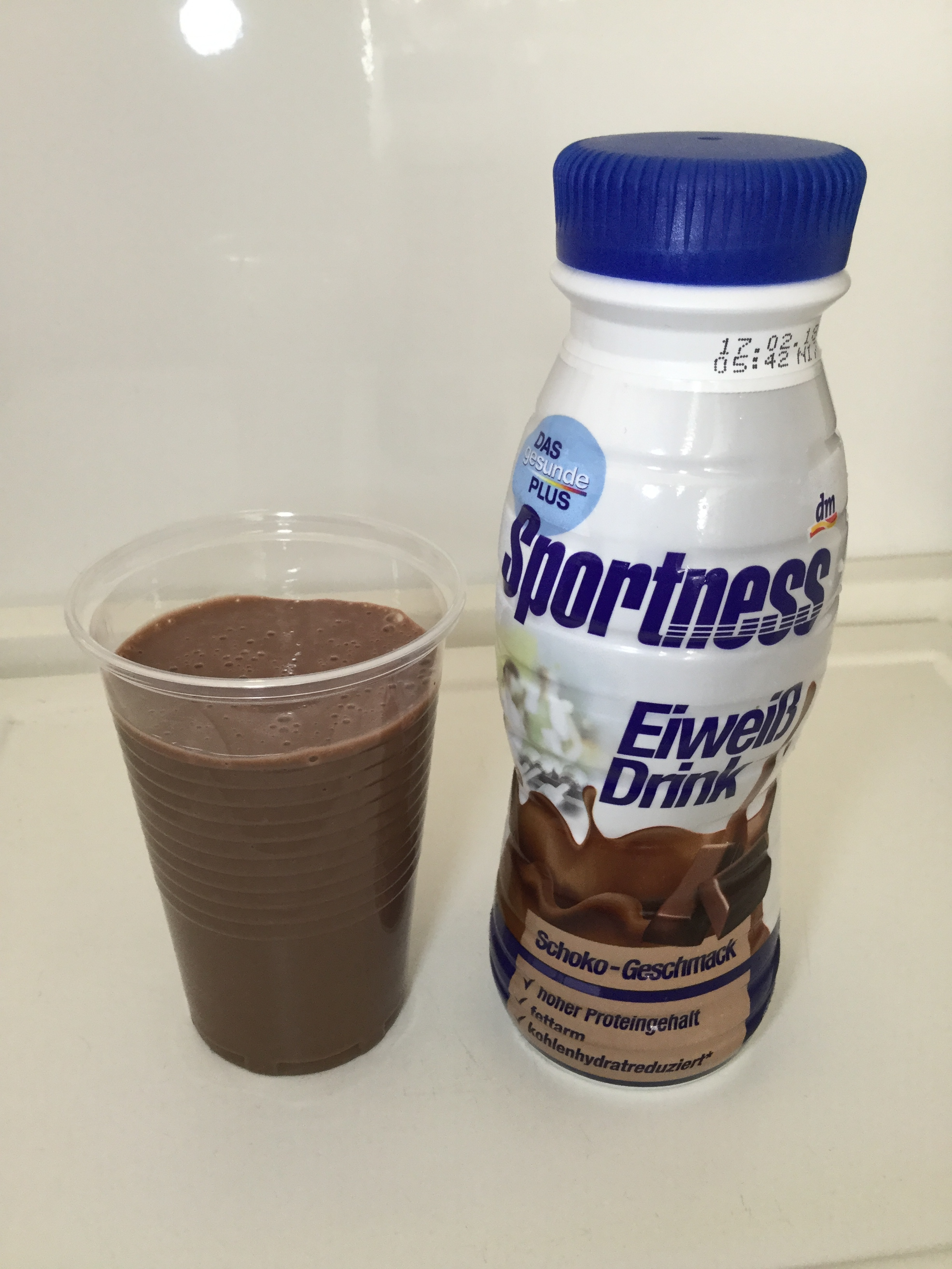 DM Sportness Chocolate Protein Drink Cup