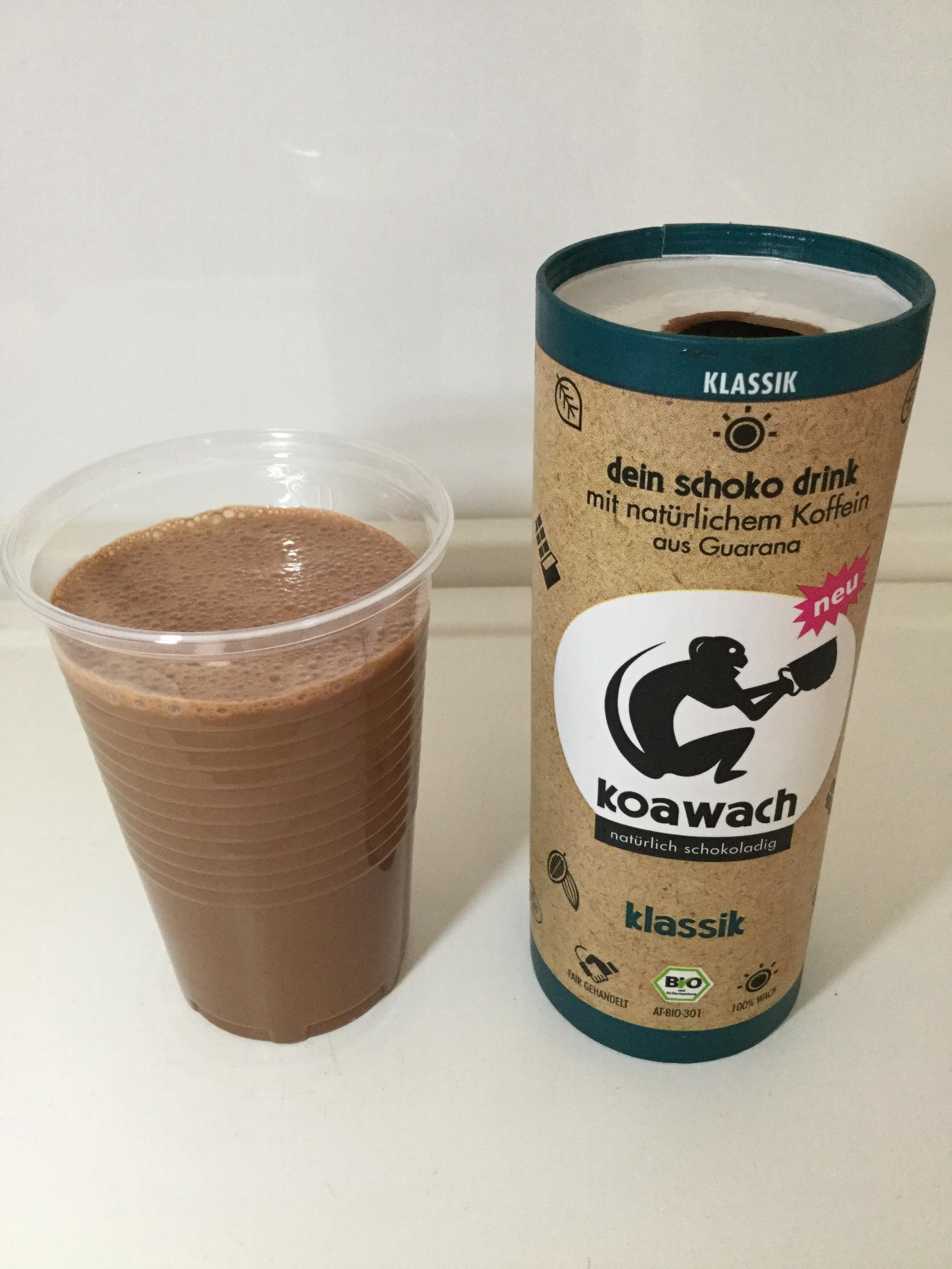 Koawach Klassik Naturlich Schokoladig Cup