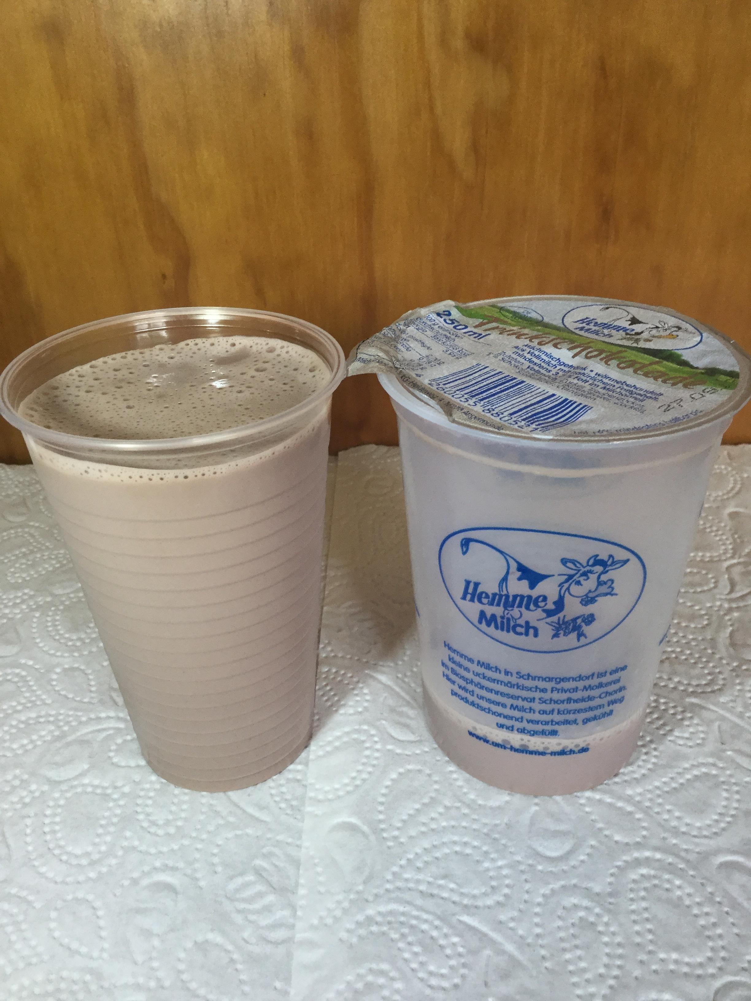 Hemme Milch Trinkschokolade Cup