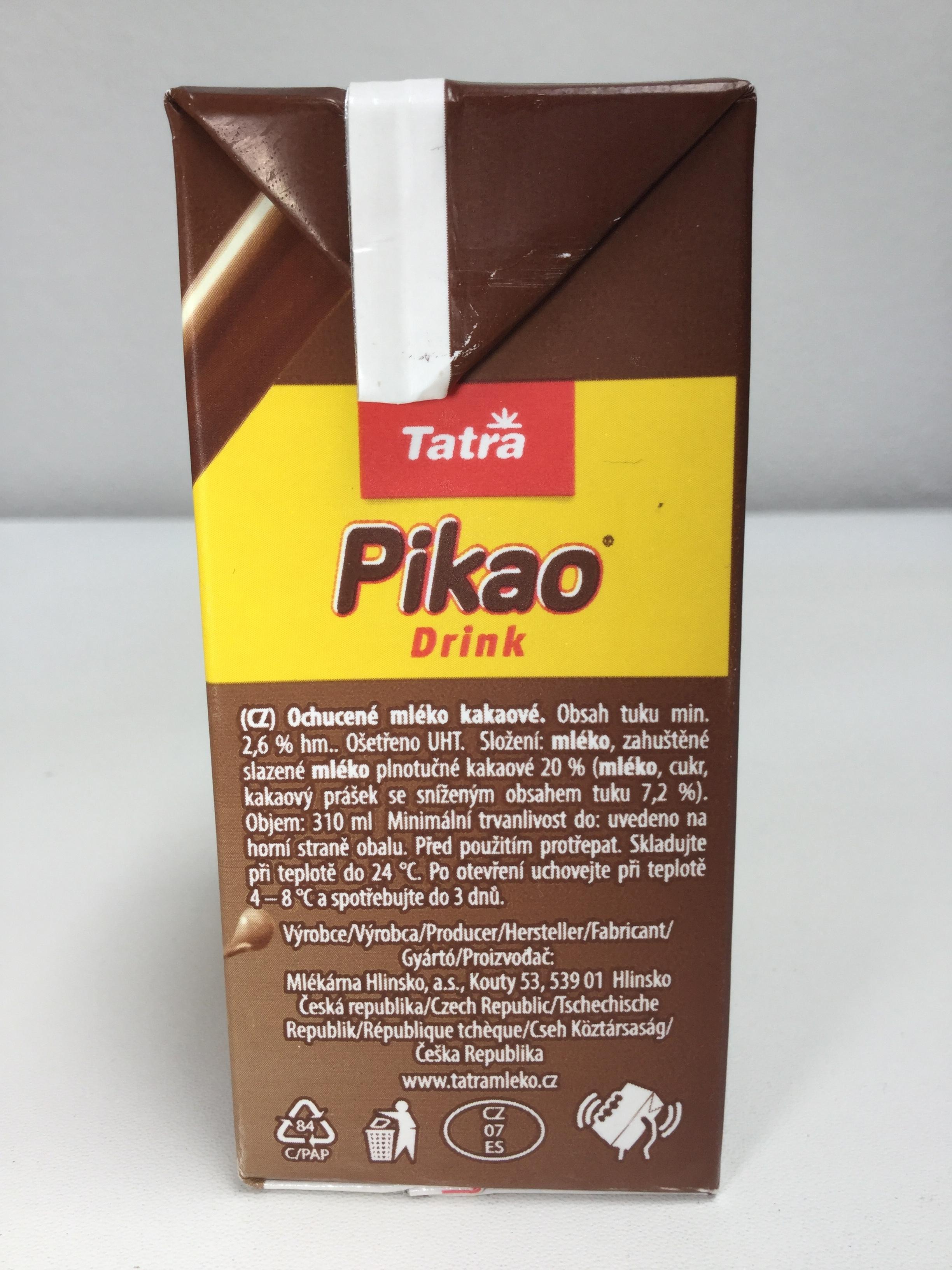 Tatra Pikao Drink Side 2