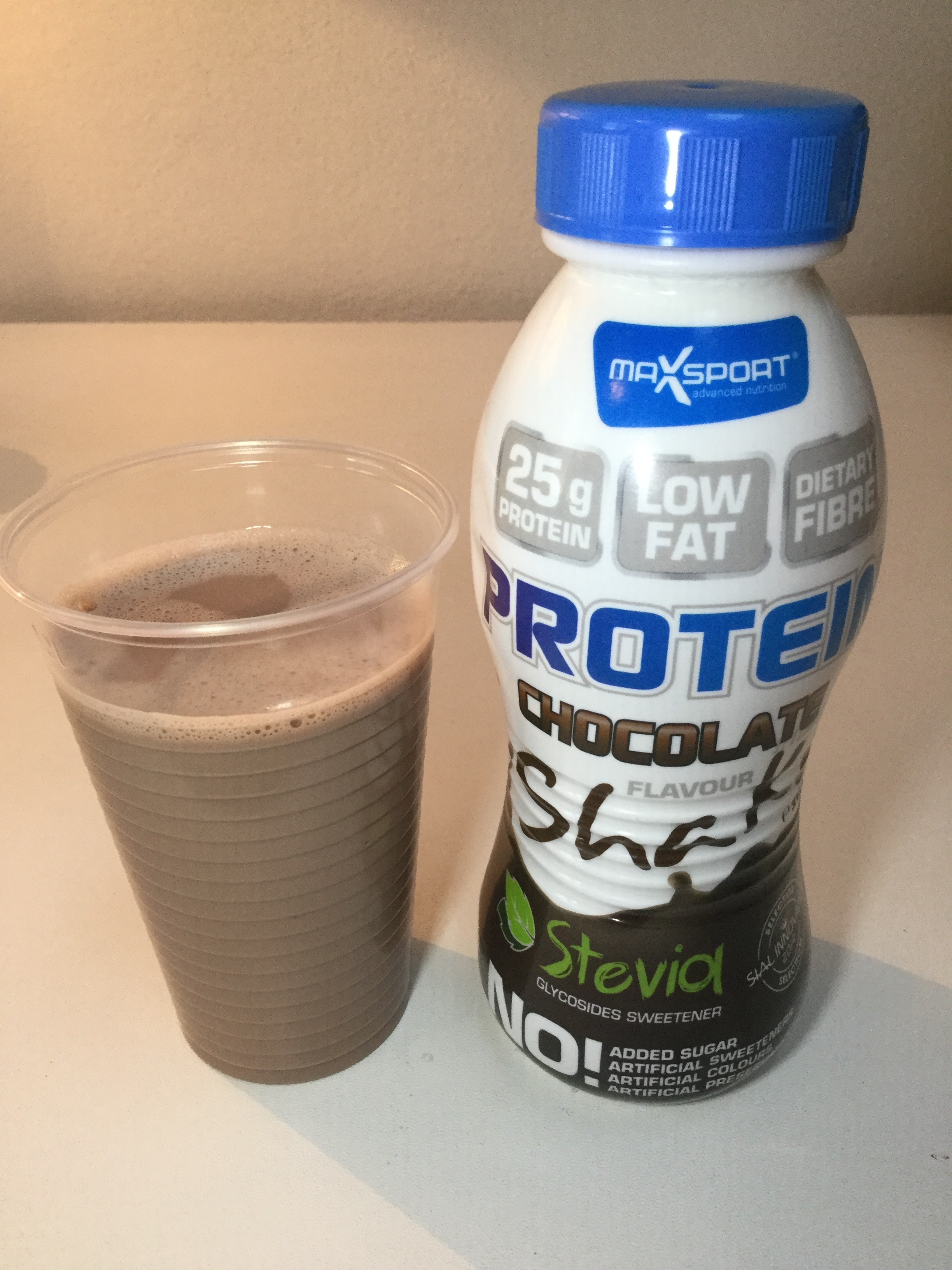 MaxSport Protein Shake Chocolate Cup