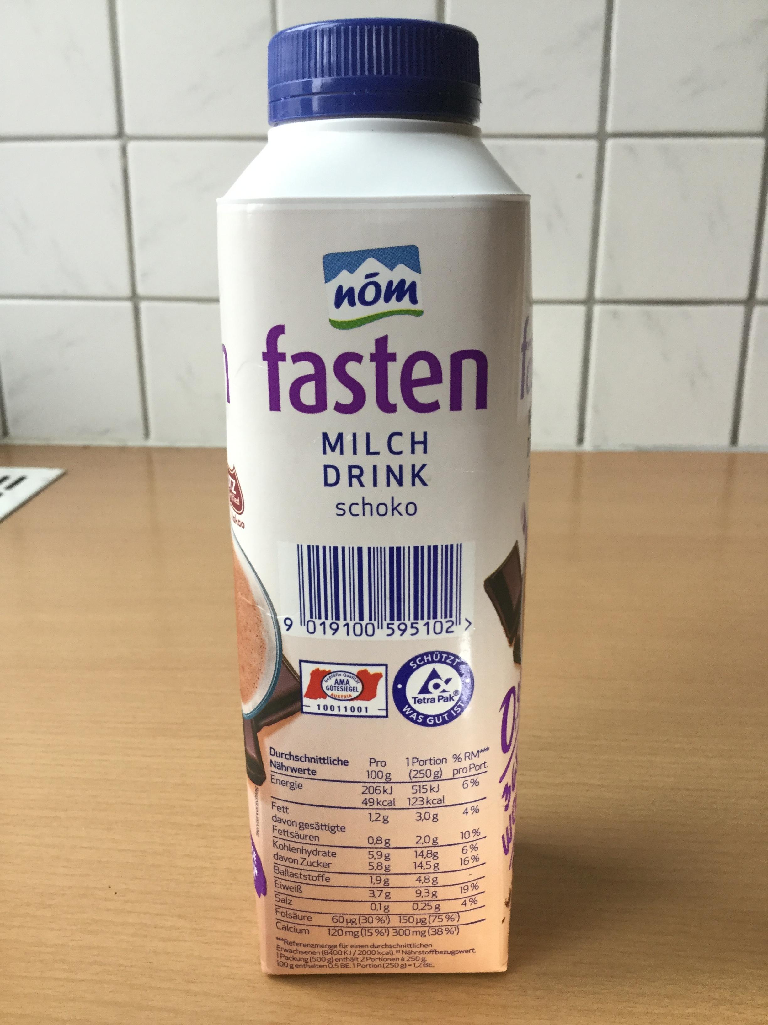 Nom Fasten Milch Drink Schoko Side 1