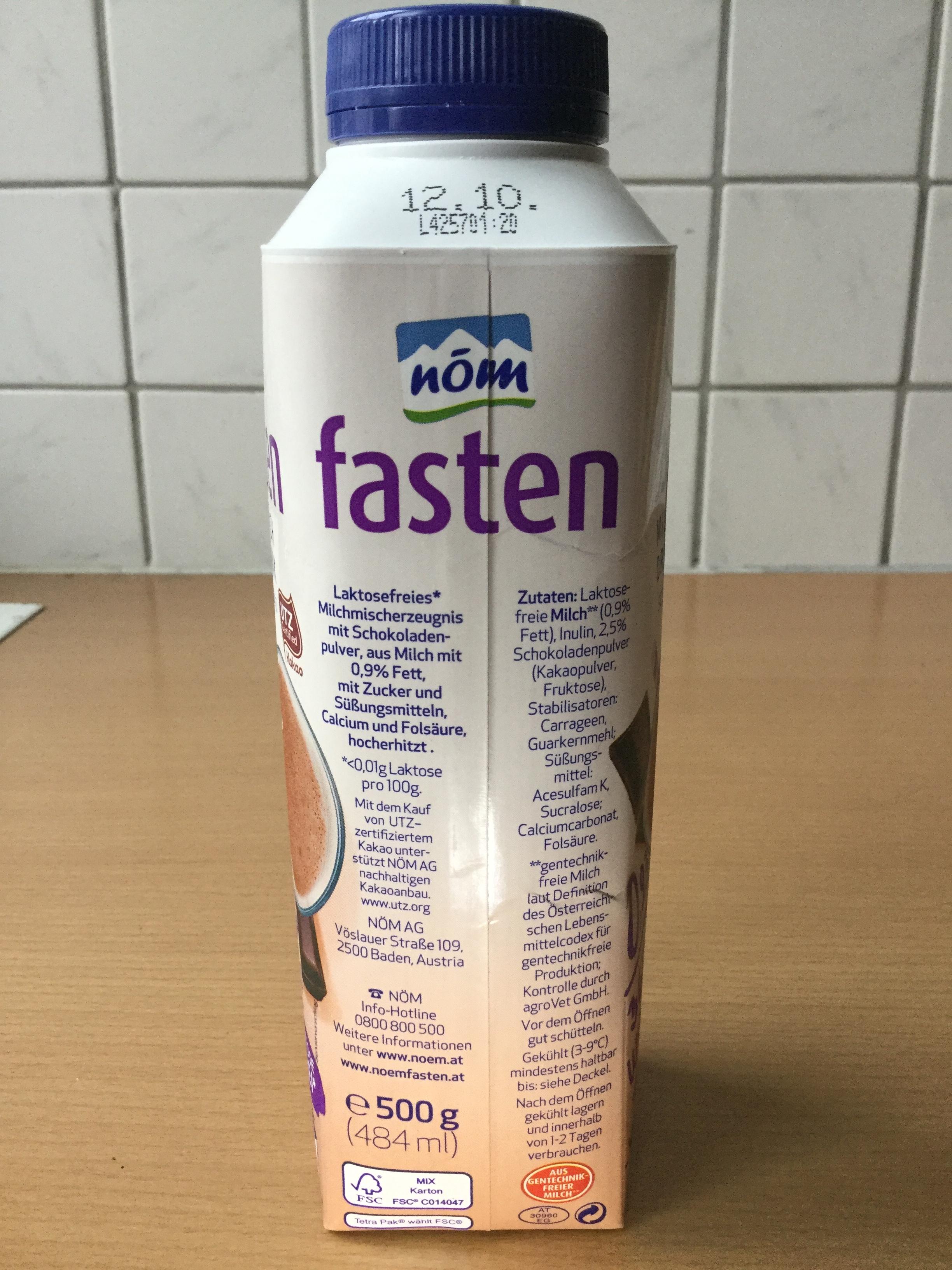 Nom Fasten Milch Drink Schoko Side 2
