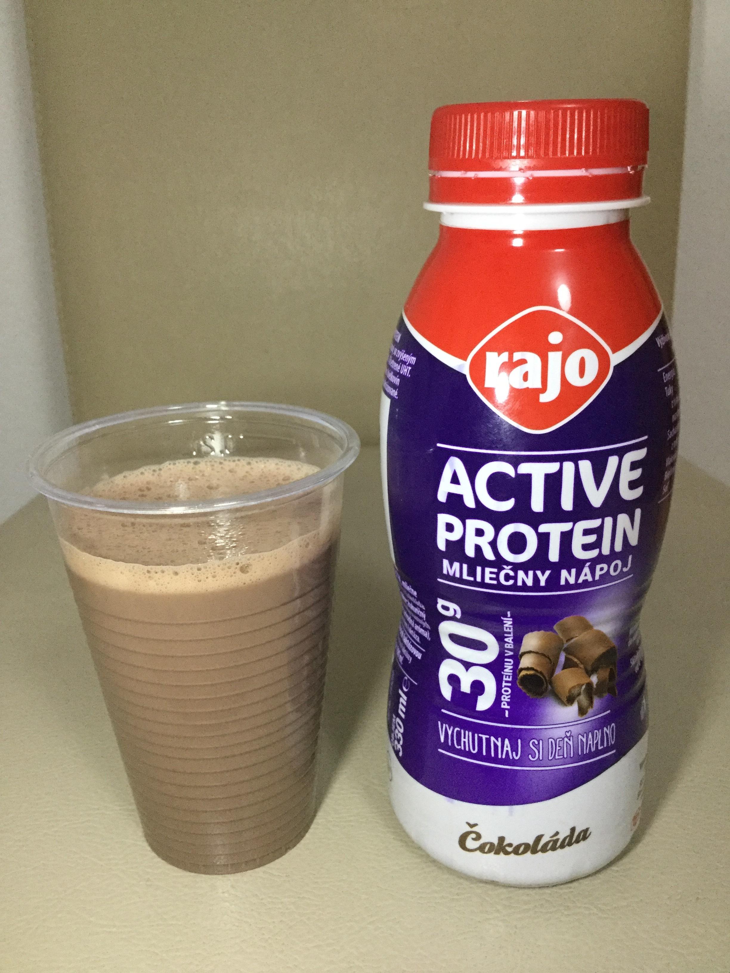 Rajo Active Protein Dairy Drink Cokolada Cup