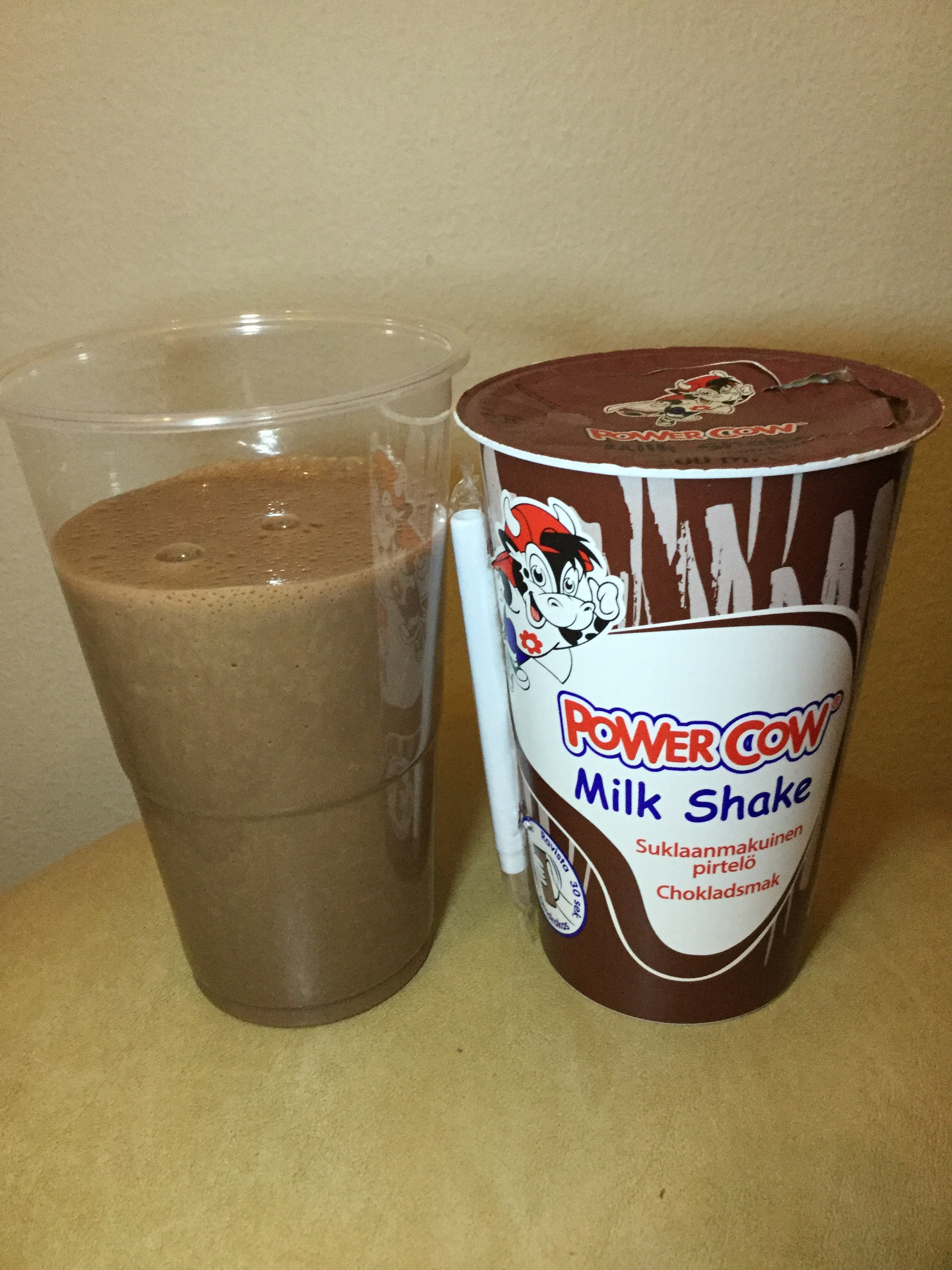 Power Cow Milk Shake Chokladsmak Cup