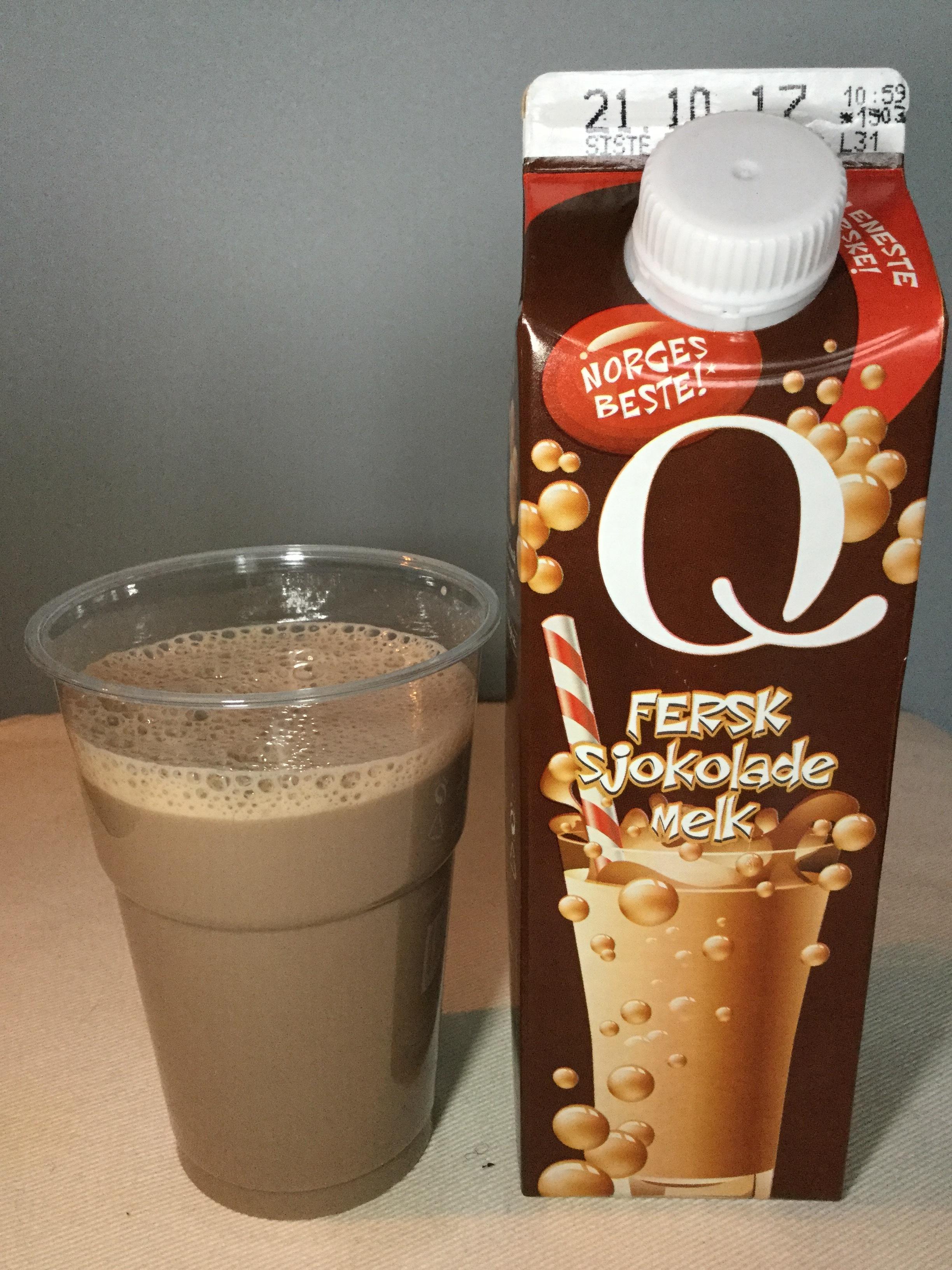 Q-Meieriene Fersk Sjokolade Melk Cup
