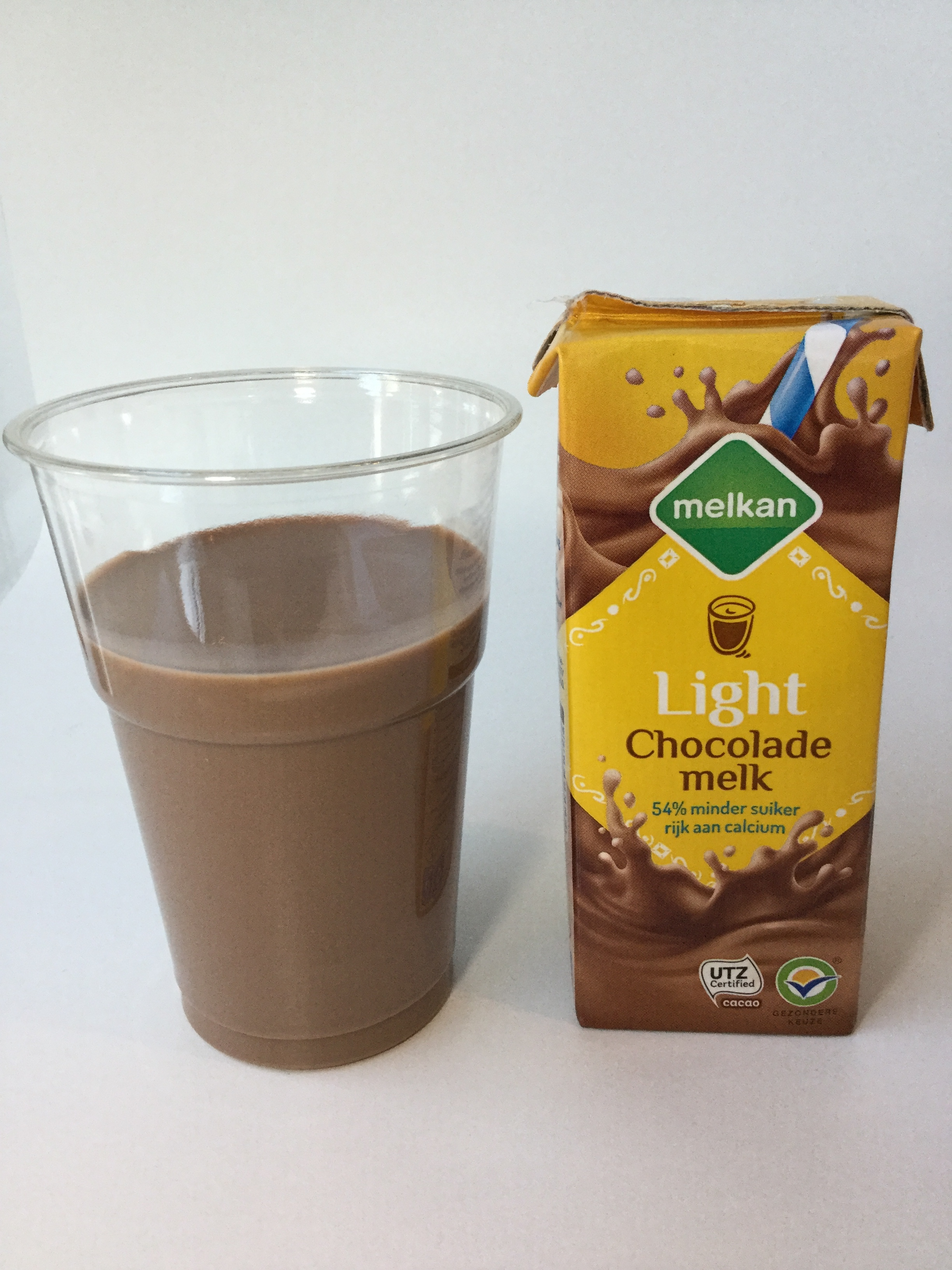 Melkan Light Chocolade Melk Cup