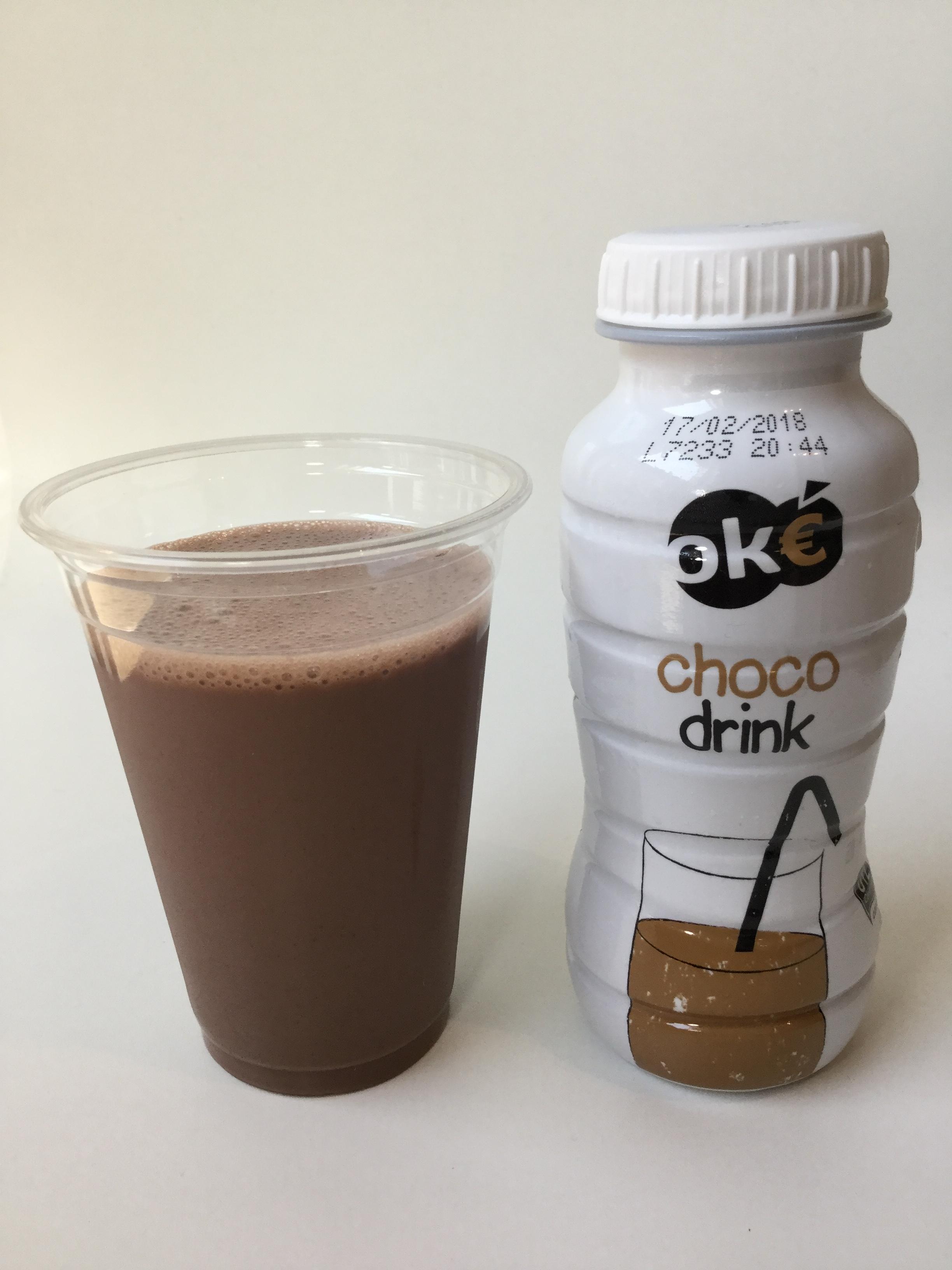 OK€ Choco Drink Cup