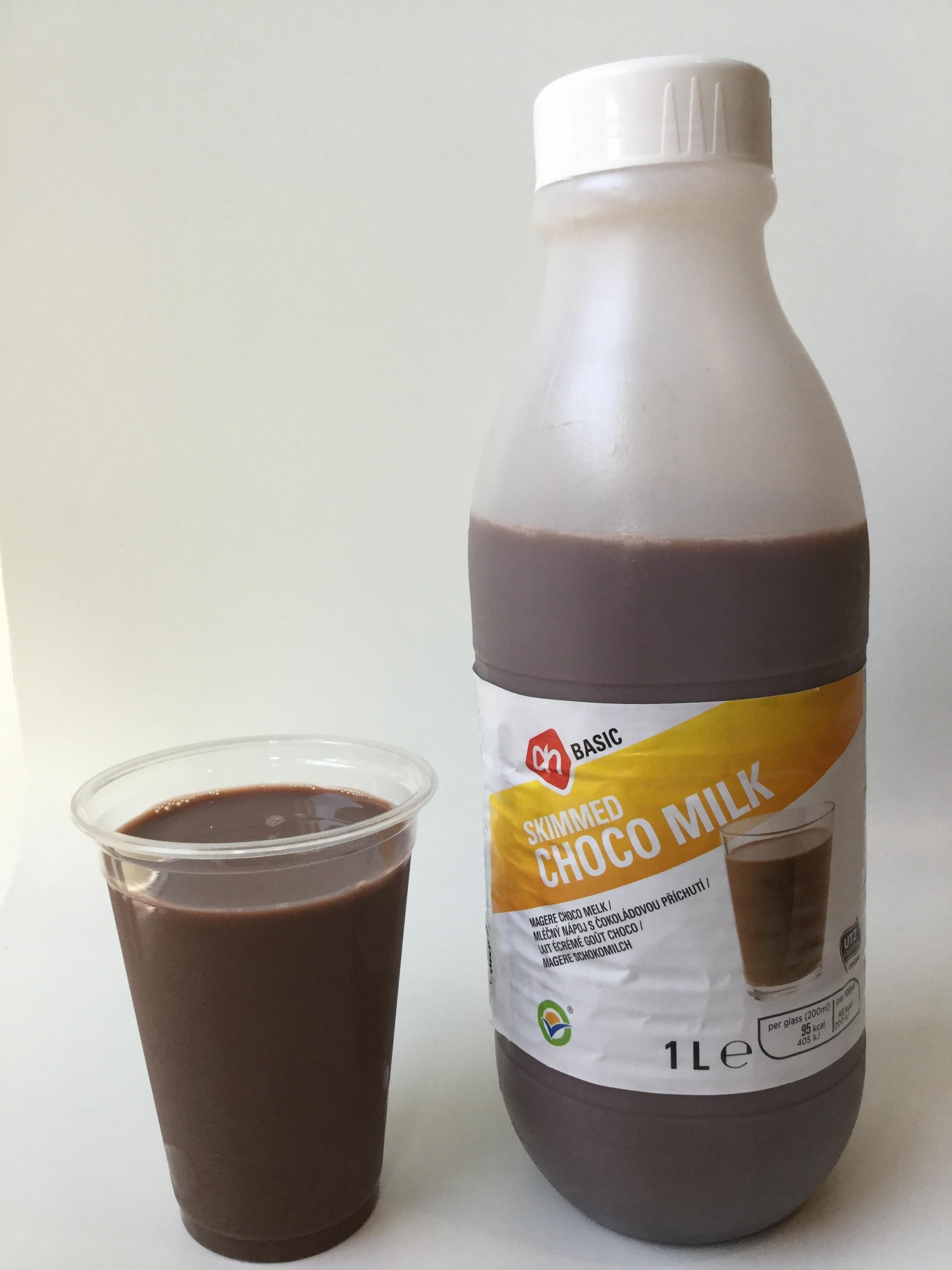 Albert Heijn Basic Skimmed Choco Milk Cup
