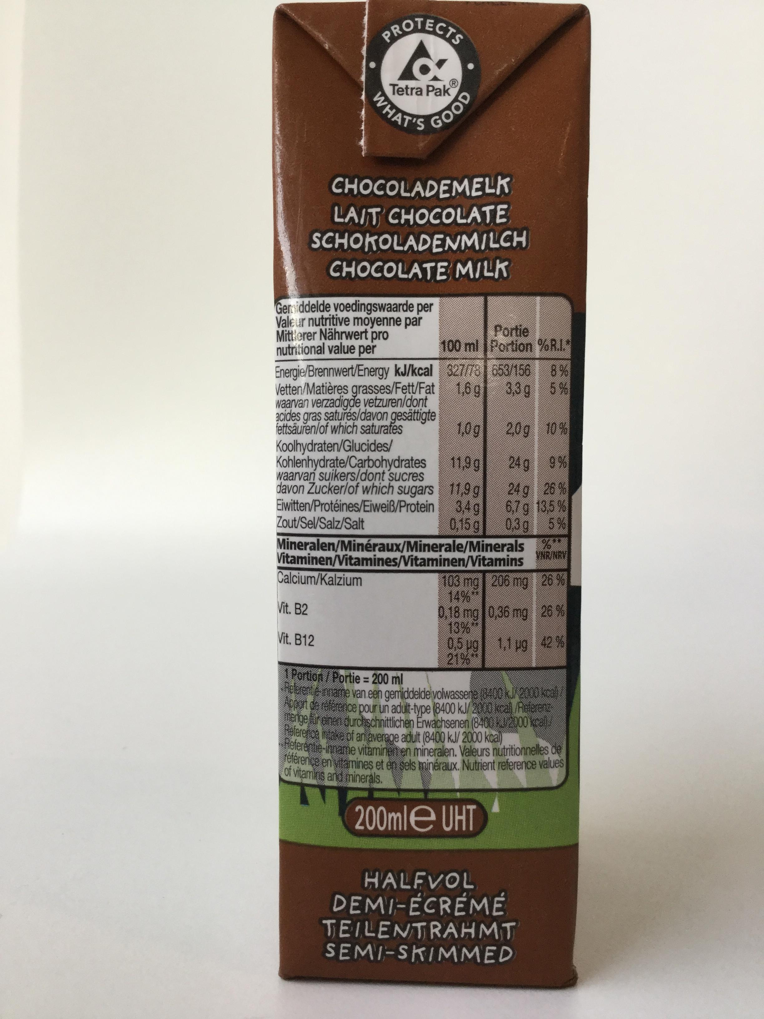 Inex Chocolademelk Side 1