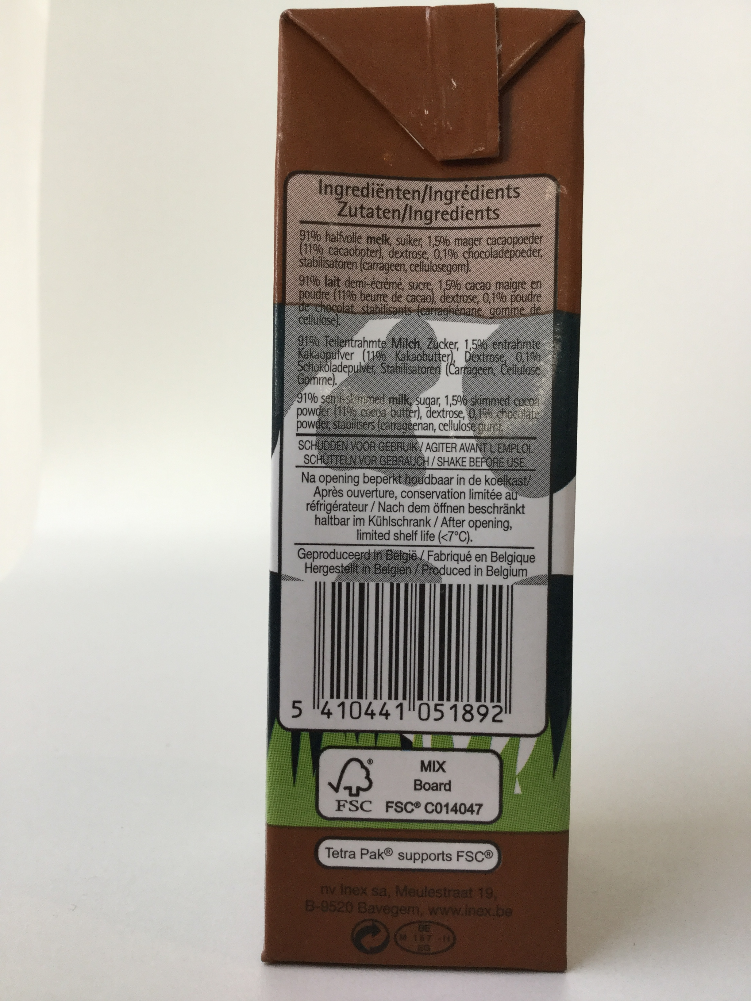 Inex Chocolademelk Side 2