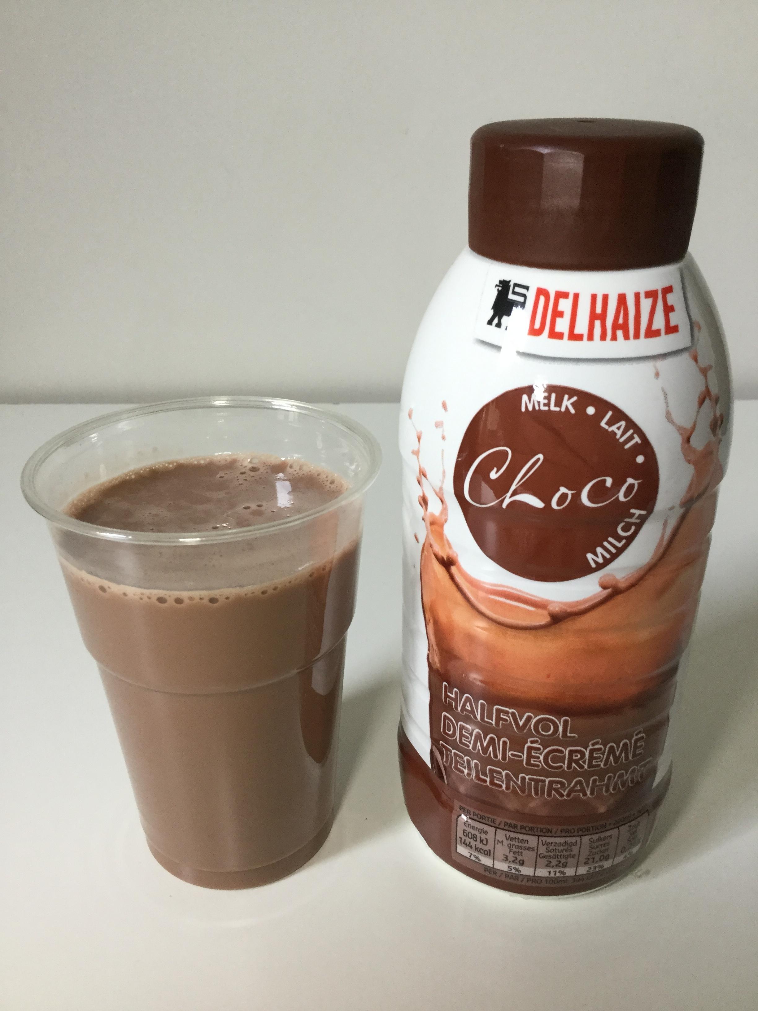 Delhaize Choco Melk Halfvol Cup