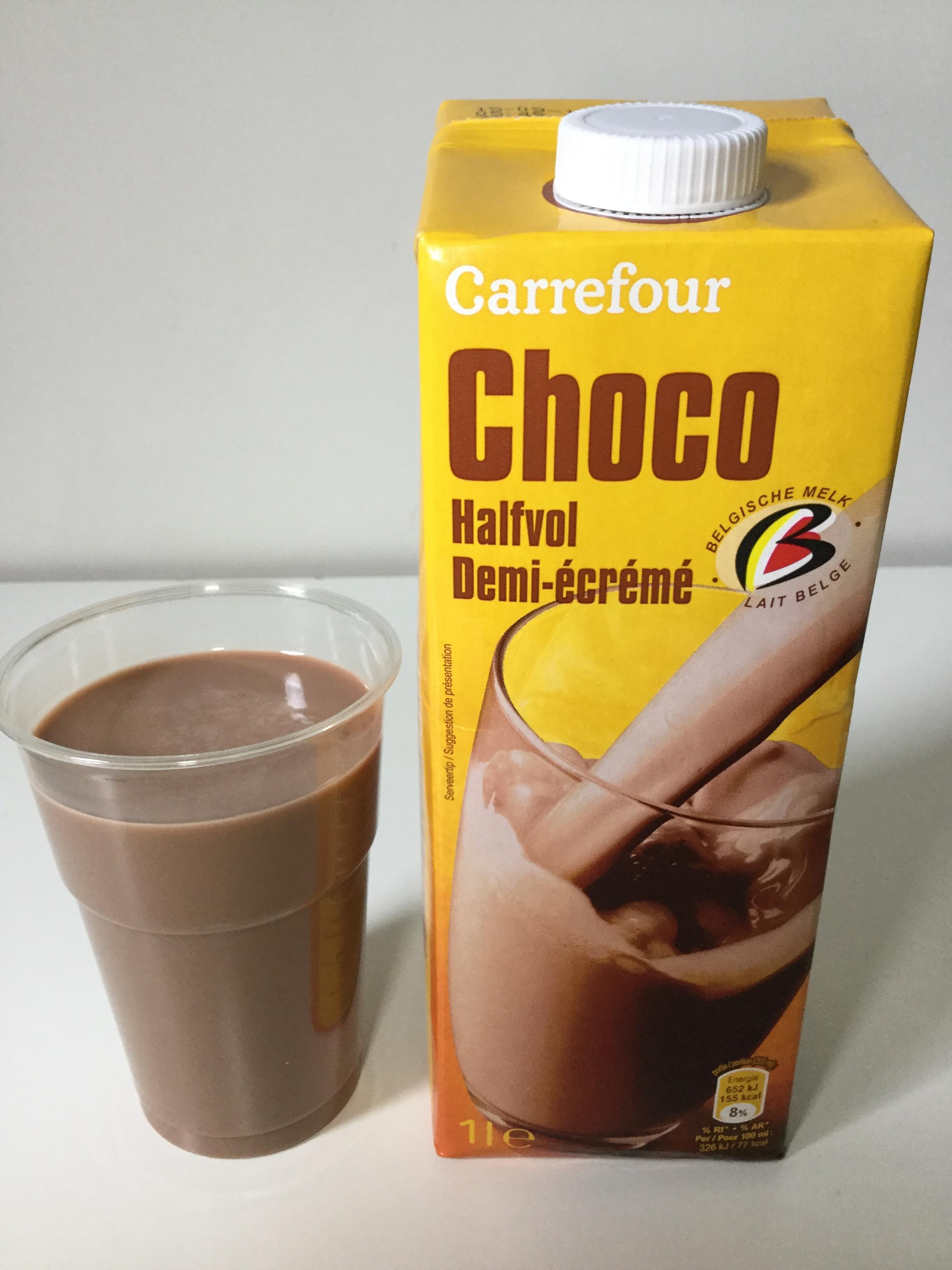 Carrefour Choco Halfvol Cup